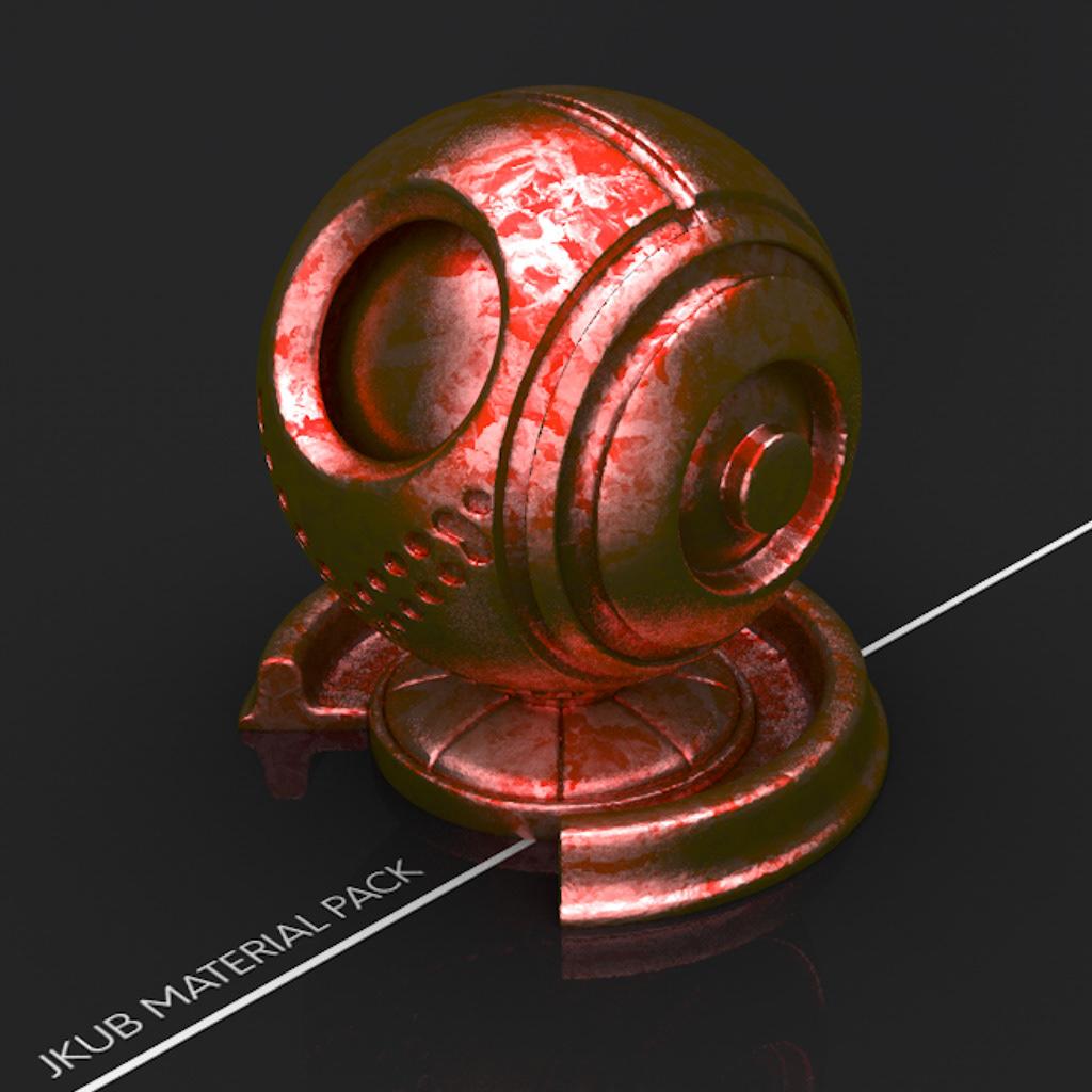 Jacob Capener - Designer - JKUB Cinema 4D Material Pack