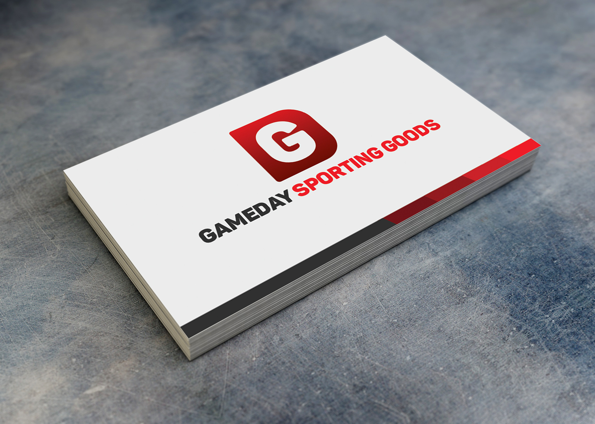 Caleb Emmer - GameDay Business Card
