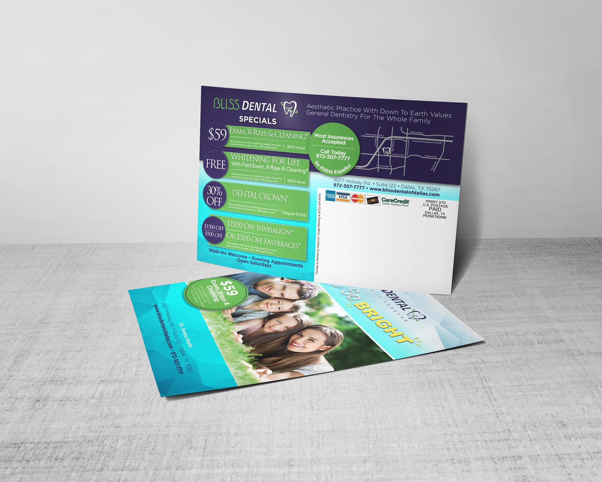 Jessica Smith - Direct Mail Postcards