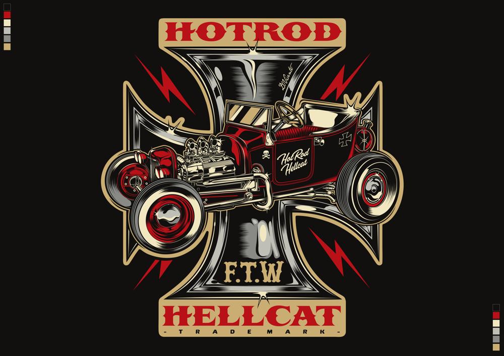 Dvicente Art Com Portfolio Hotrod Hellcat Designs Uk