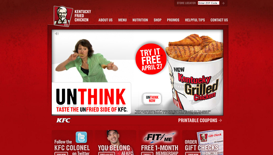 dan ferguson kfc grilled chicken dance game