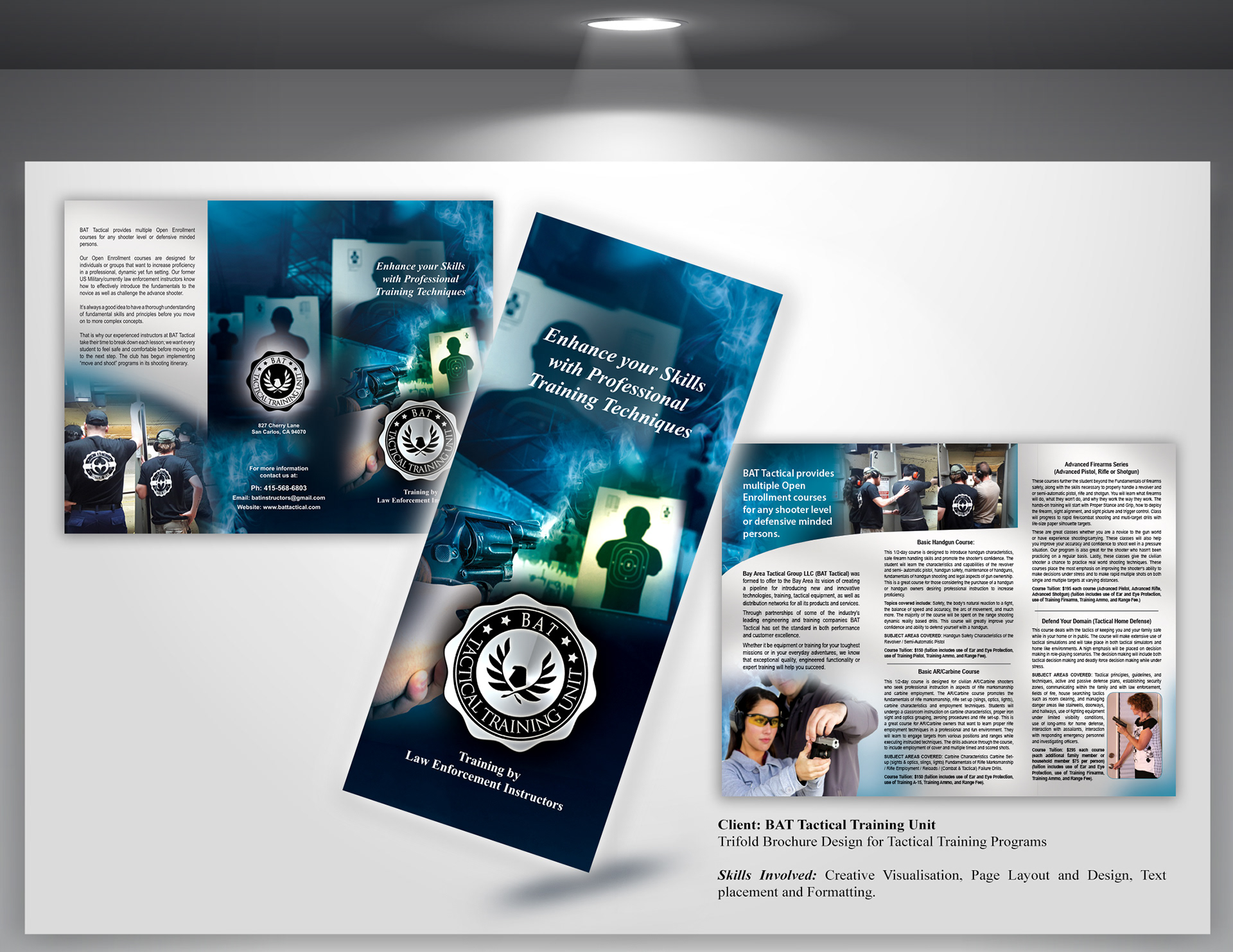 vibsdesigns trifold brochure design