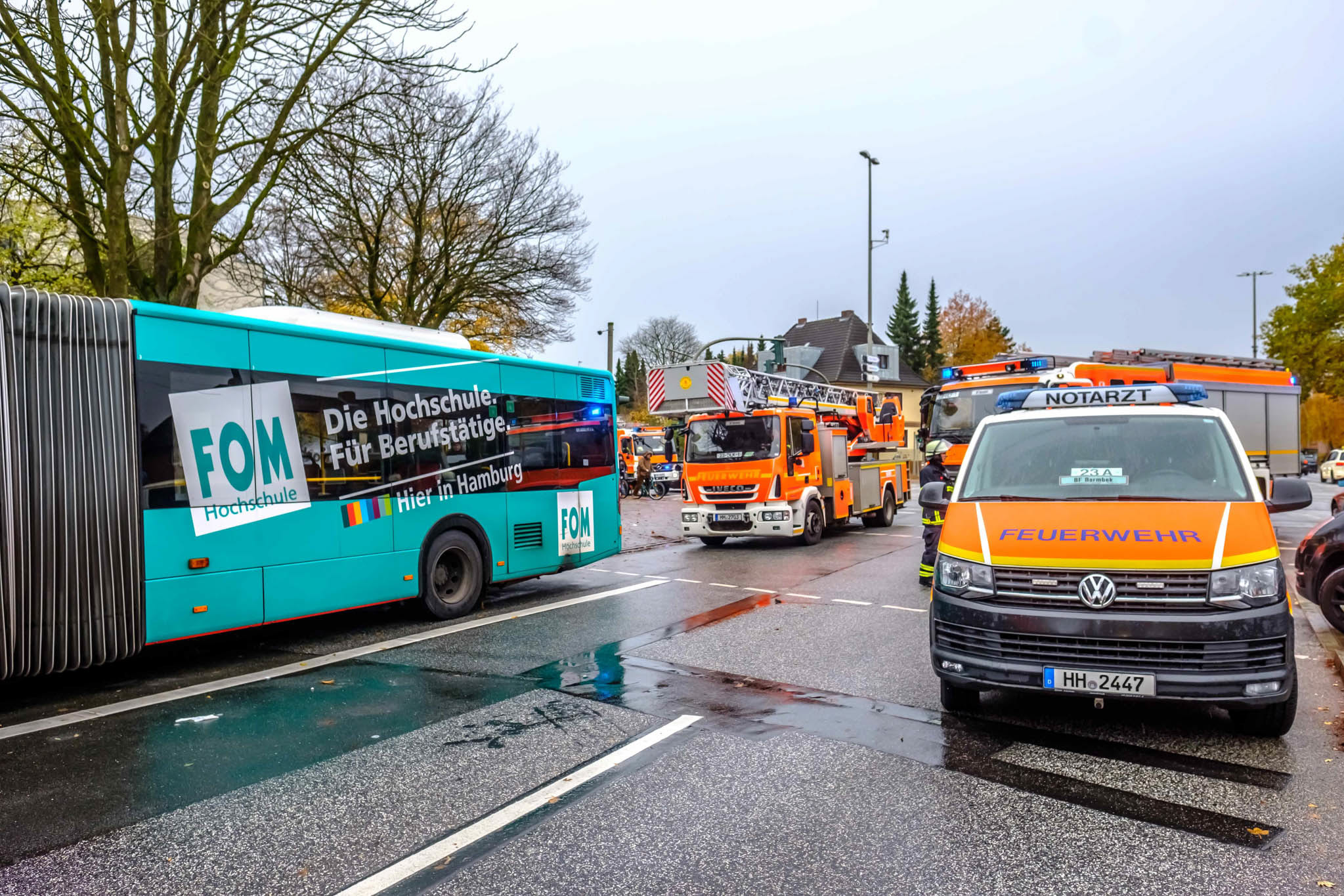 Michael Arning - 2018-11-10 Kind bei Unfall unter Bus geschleudert