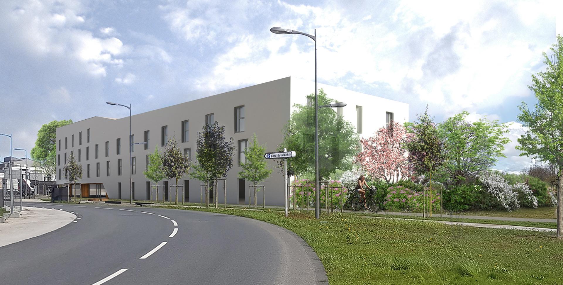 Maitre D Oeuvre Cholet jerome boussin architecture - west campus