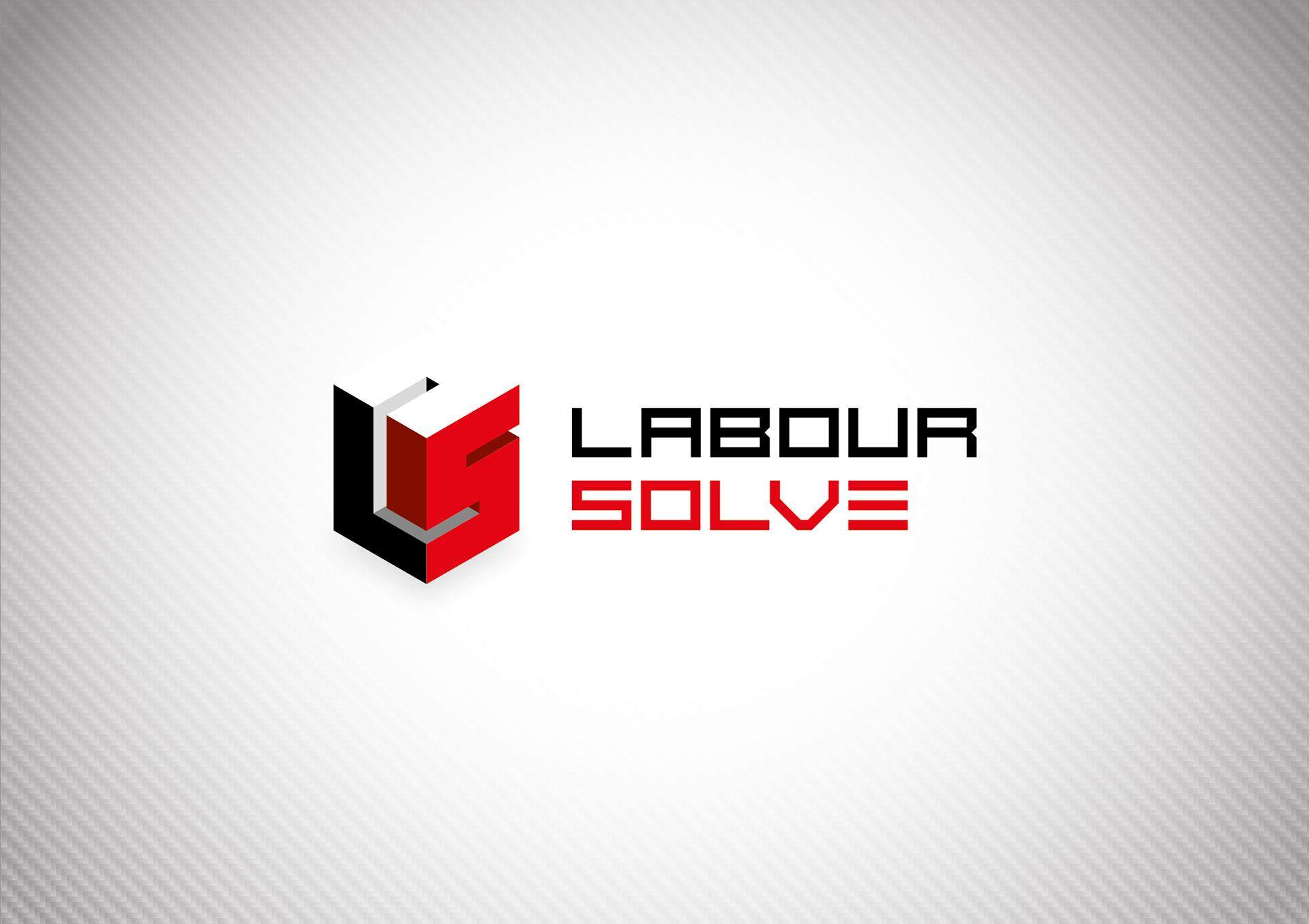 turbine design labour solve logo identity