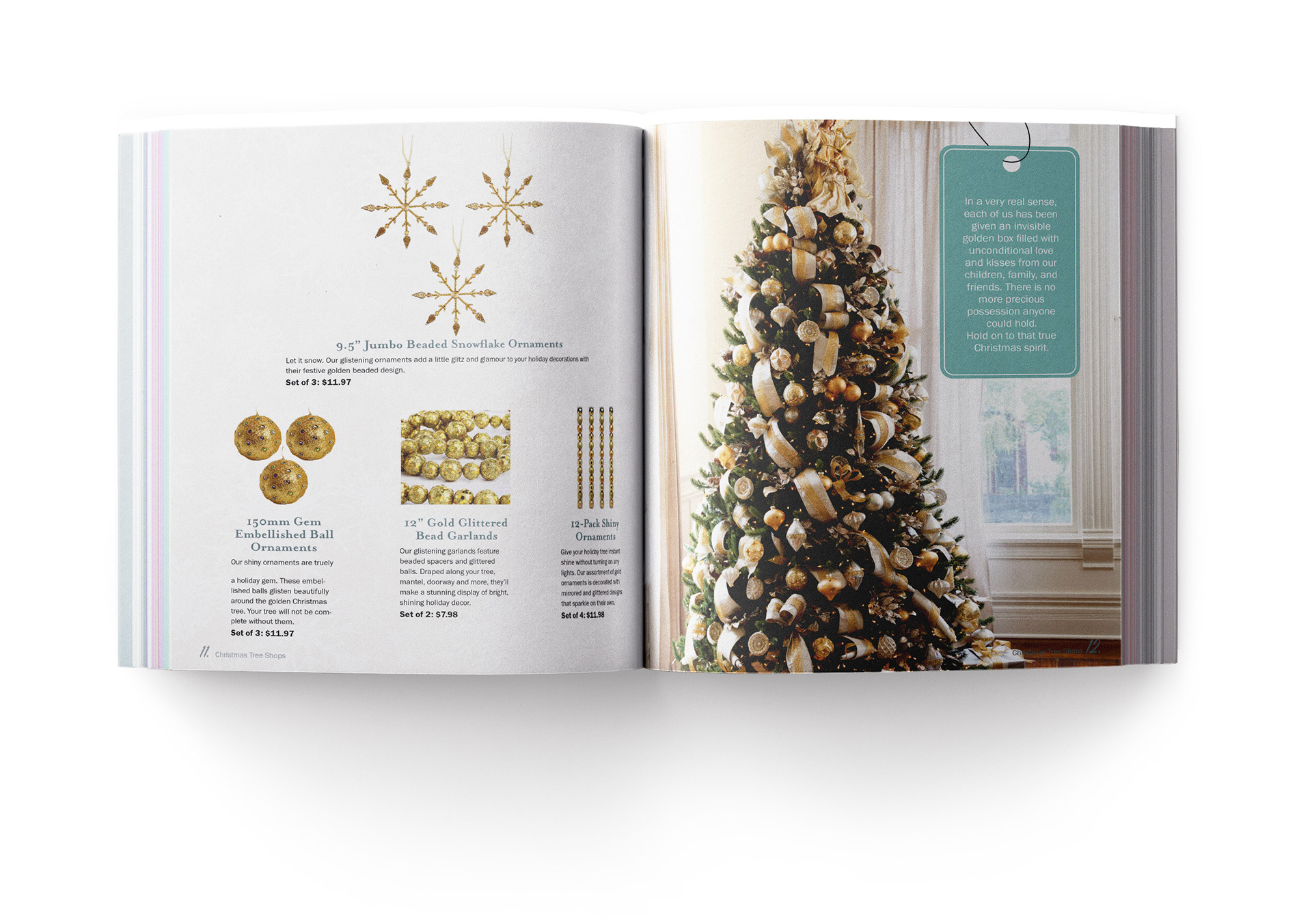 Samantha Onyx Reitnauer - Christmas Tree Shops