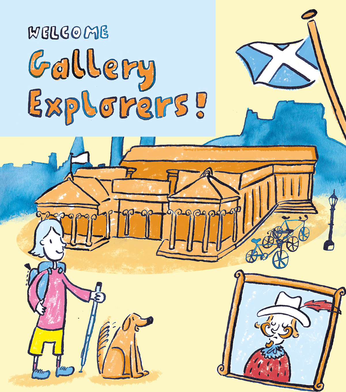 Endearing Children's Illustration by Darren Gate