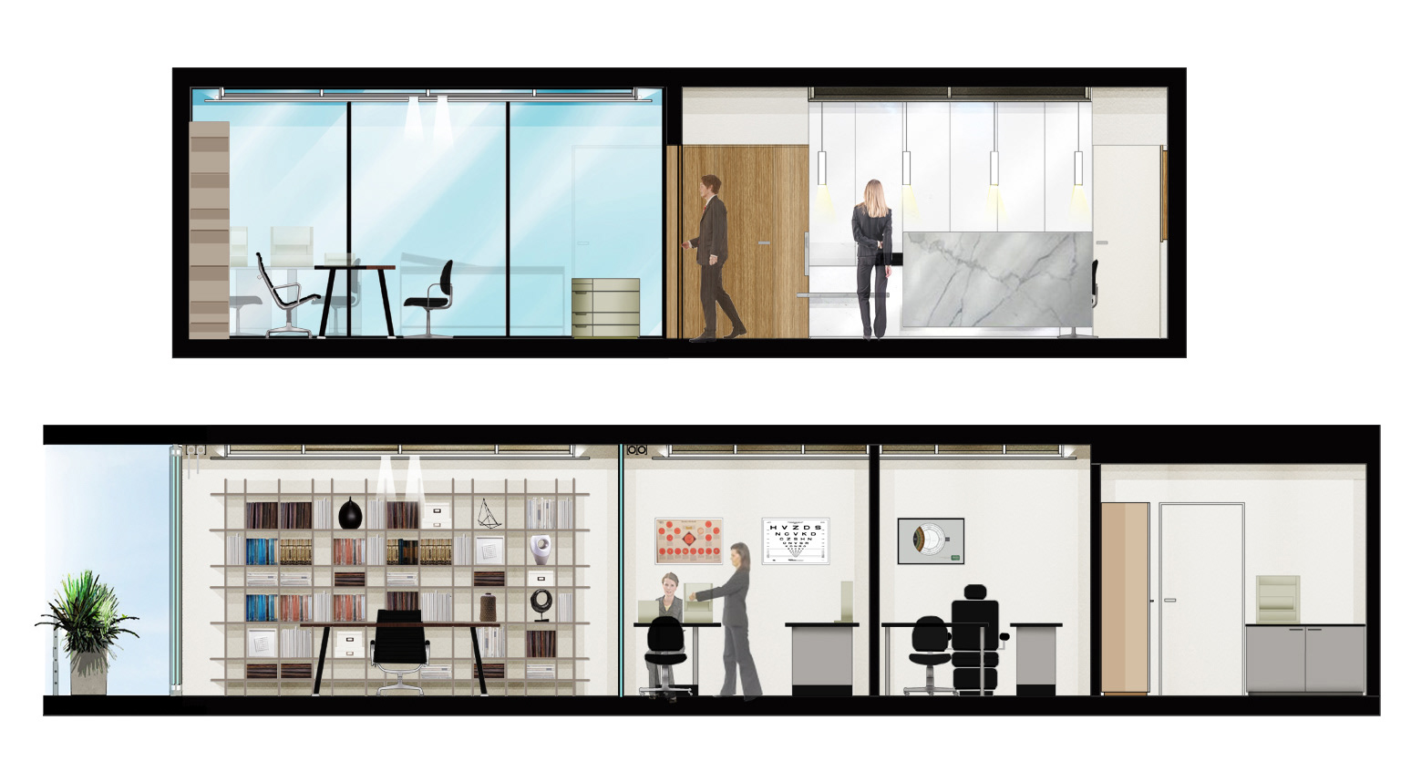 lehrer architects office design. With The Interior Decoration We Paid Particular Attention To Important Issues Such As Hygiene Whilst Maintaining A Fresh And Homely Feel. (Designs For Lehrer Architects Office Design