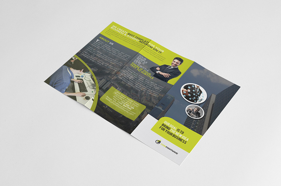 Mohammad Rasel - Tri Fold Brochure InDesign Template