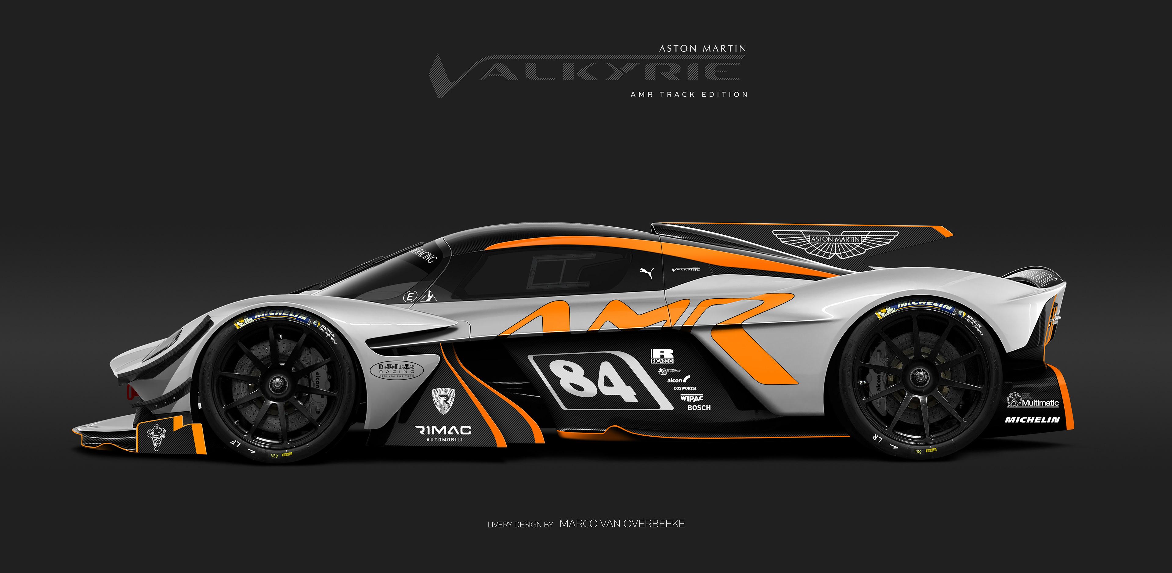 Marco Van Overbeeke Freelance Automotive Designer Aston Martin Valkyrie Heritage Amr Pro Liveries