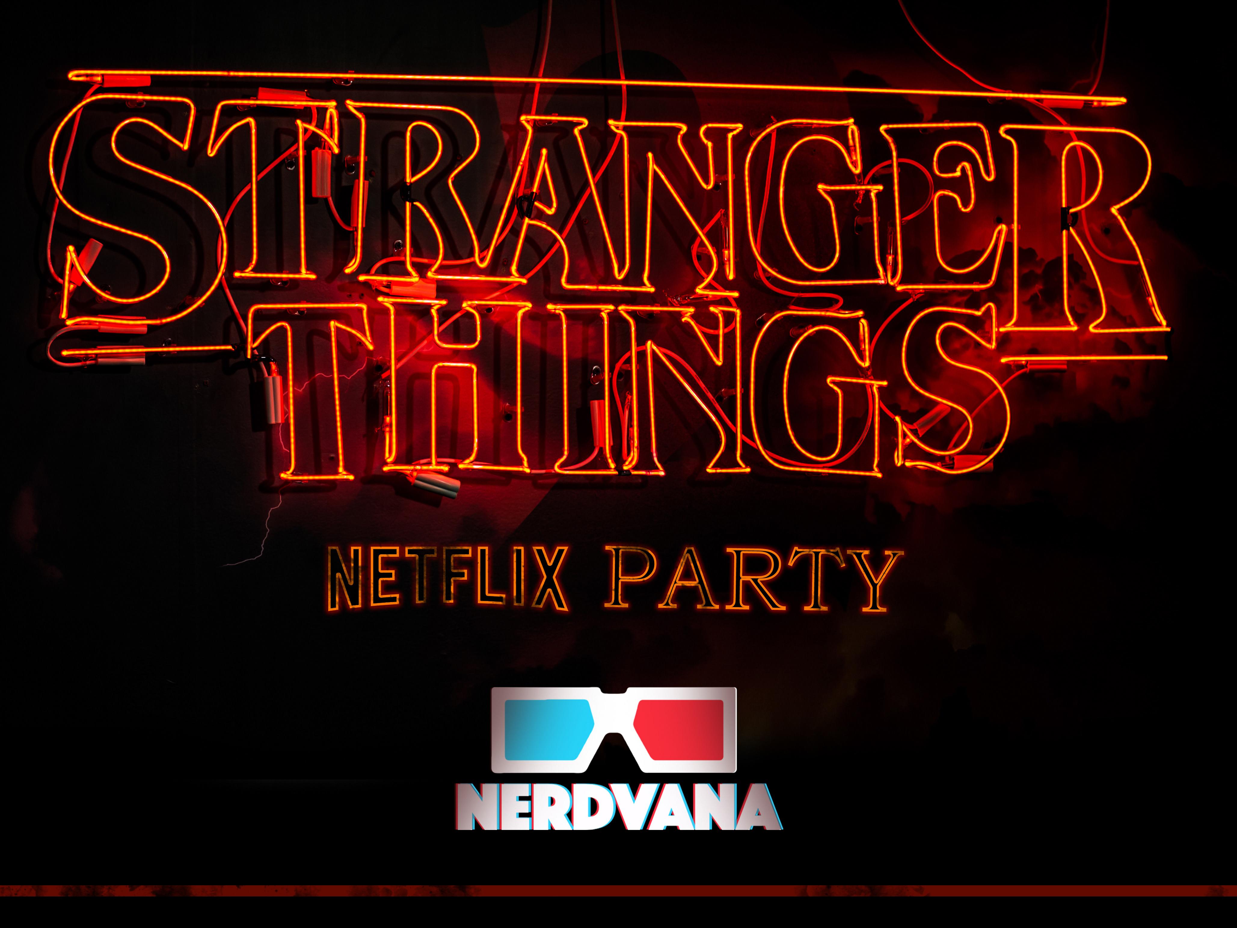 Tanawut sukke - Netflix's Stranger Things 2 Party