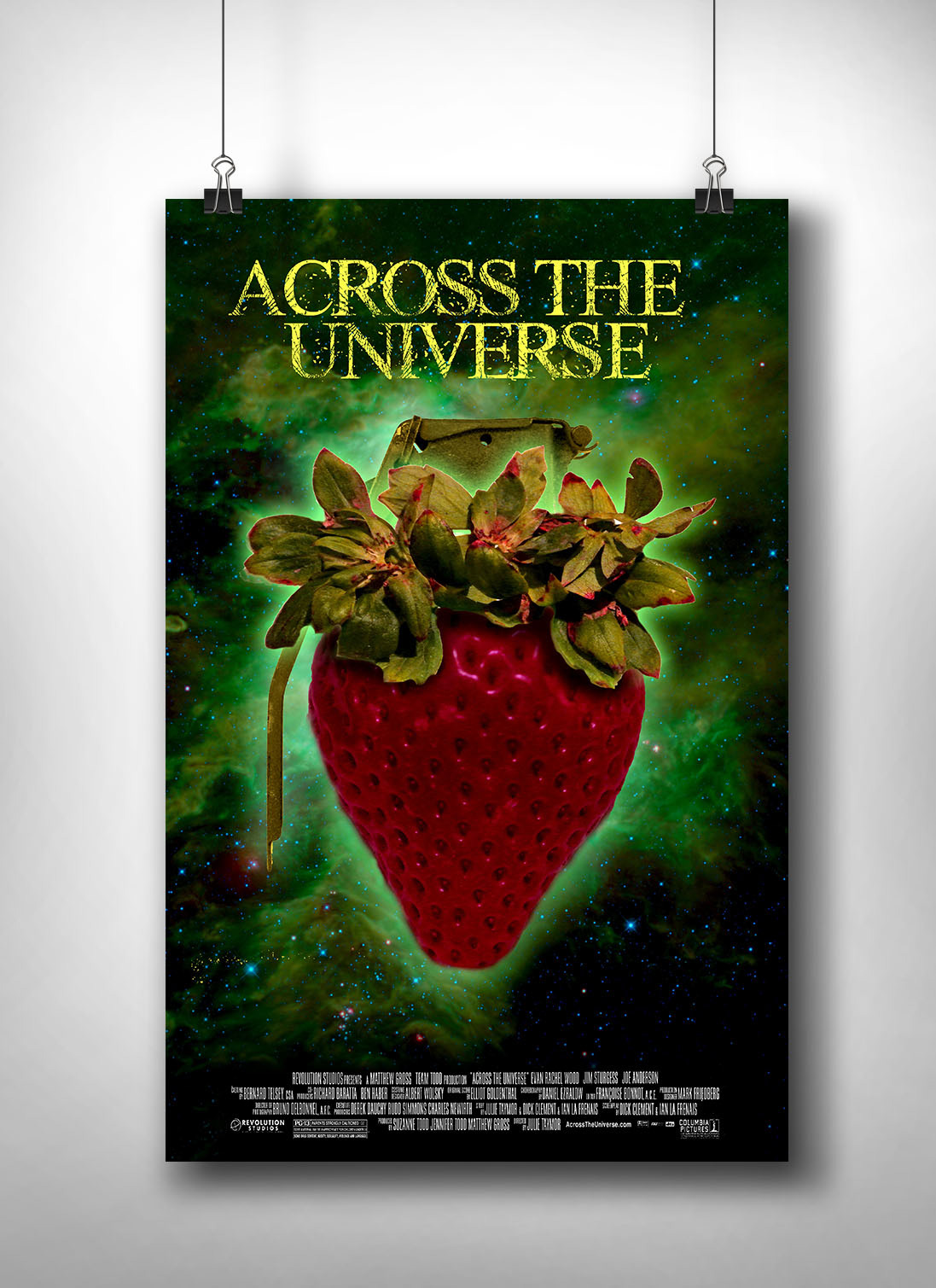 Vanessa Mann Across The Universe Movie Poster