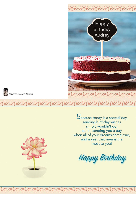 6920 production design llc custom birthday cards custom birthday cards bookmarktalkfo Images