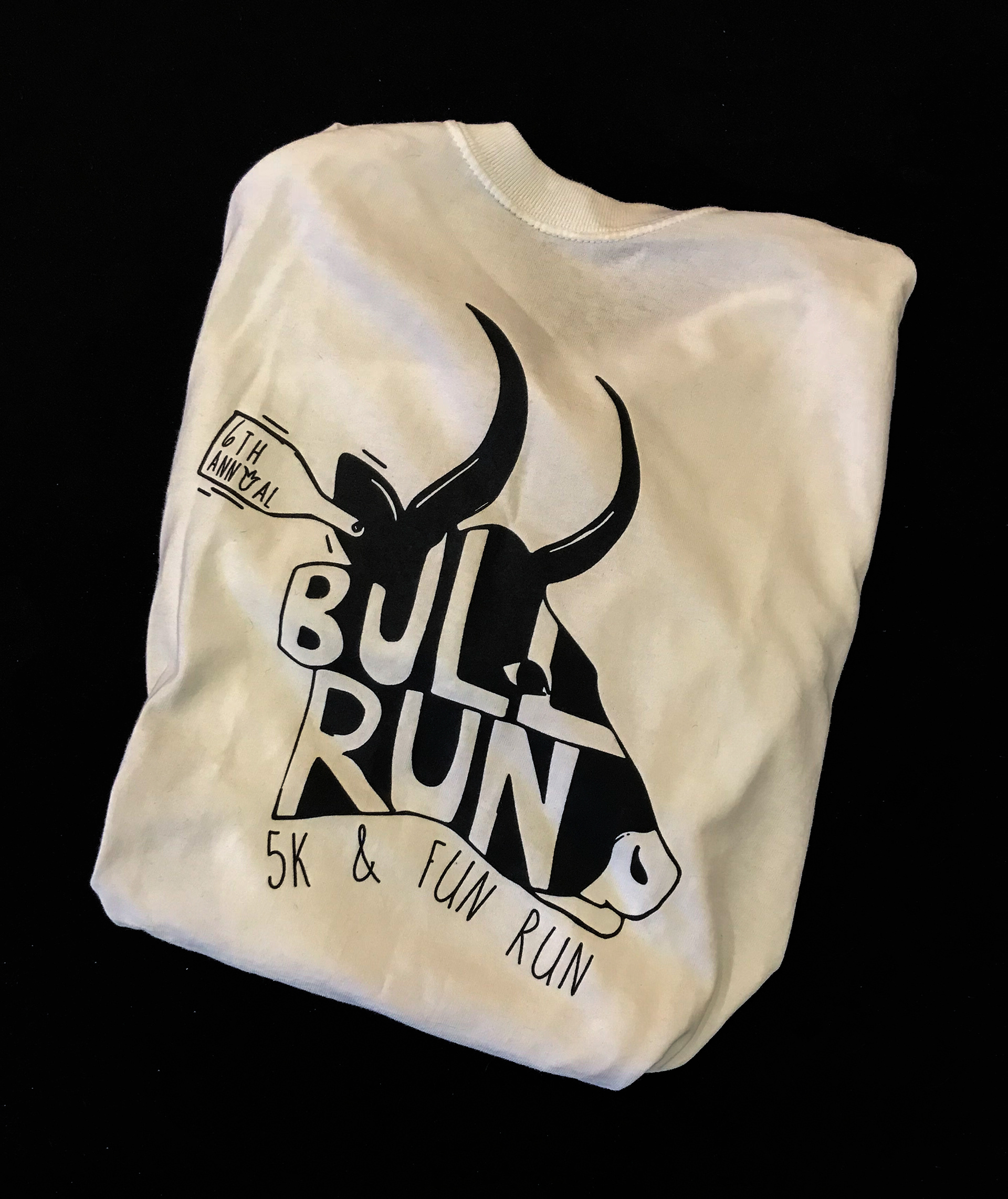 Kelly Coy Bull Run T Shirt Design