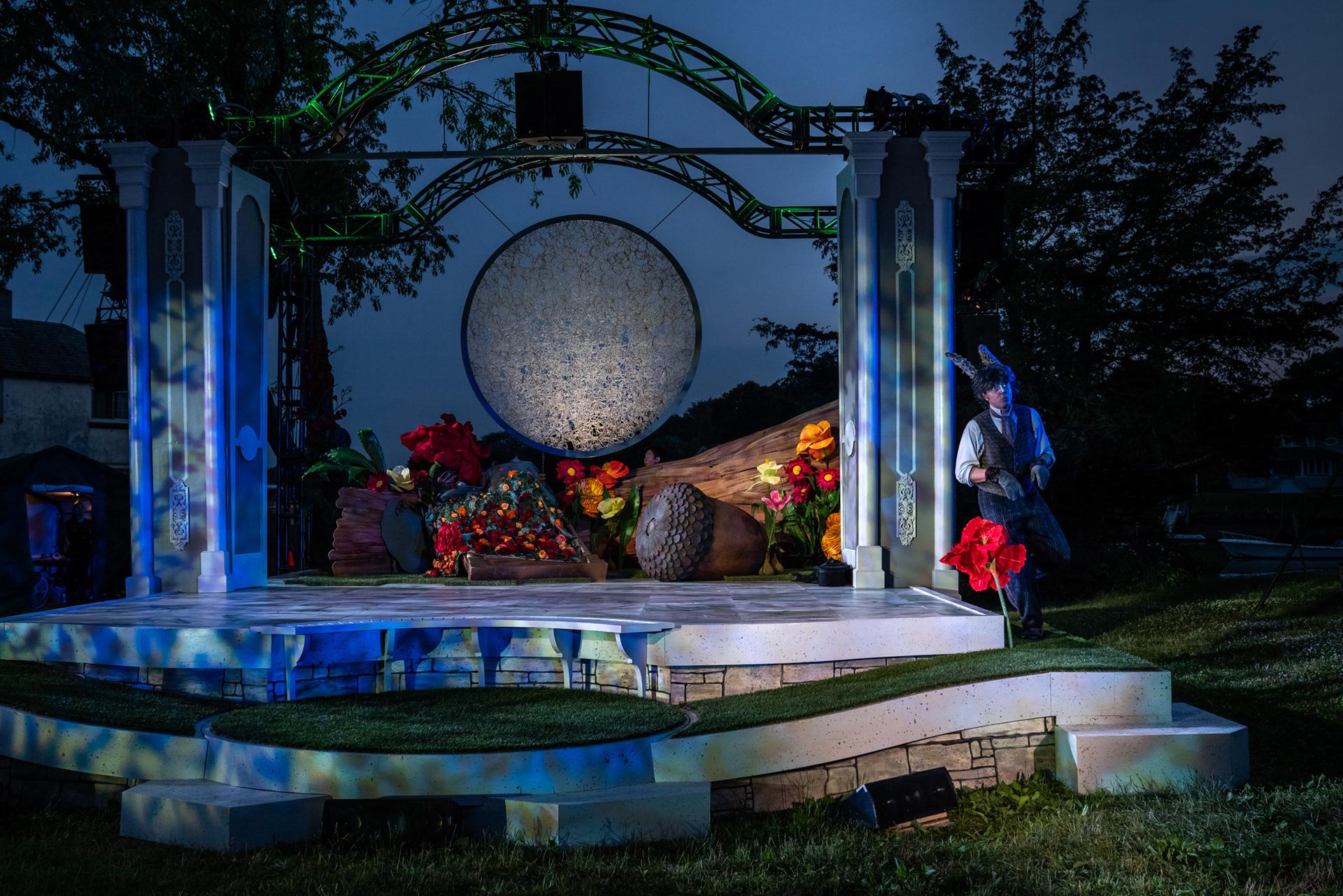 Set Design For Midsummer Nights Dream A Midsummer Nights Dream