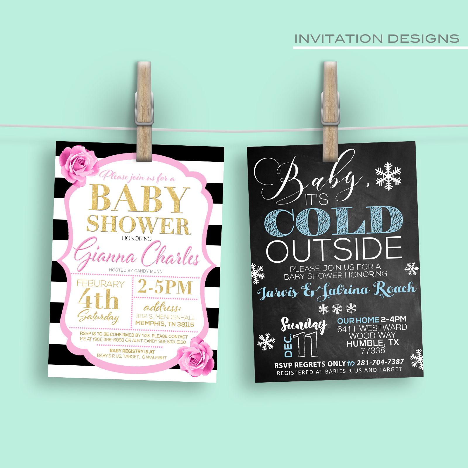payne branding company portfolio flyers invitations