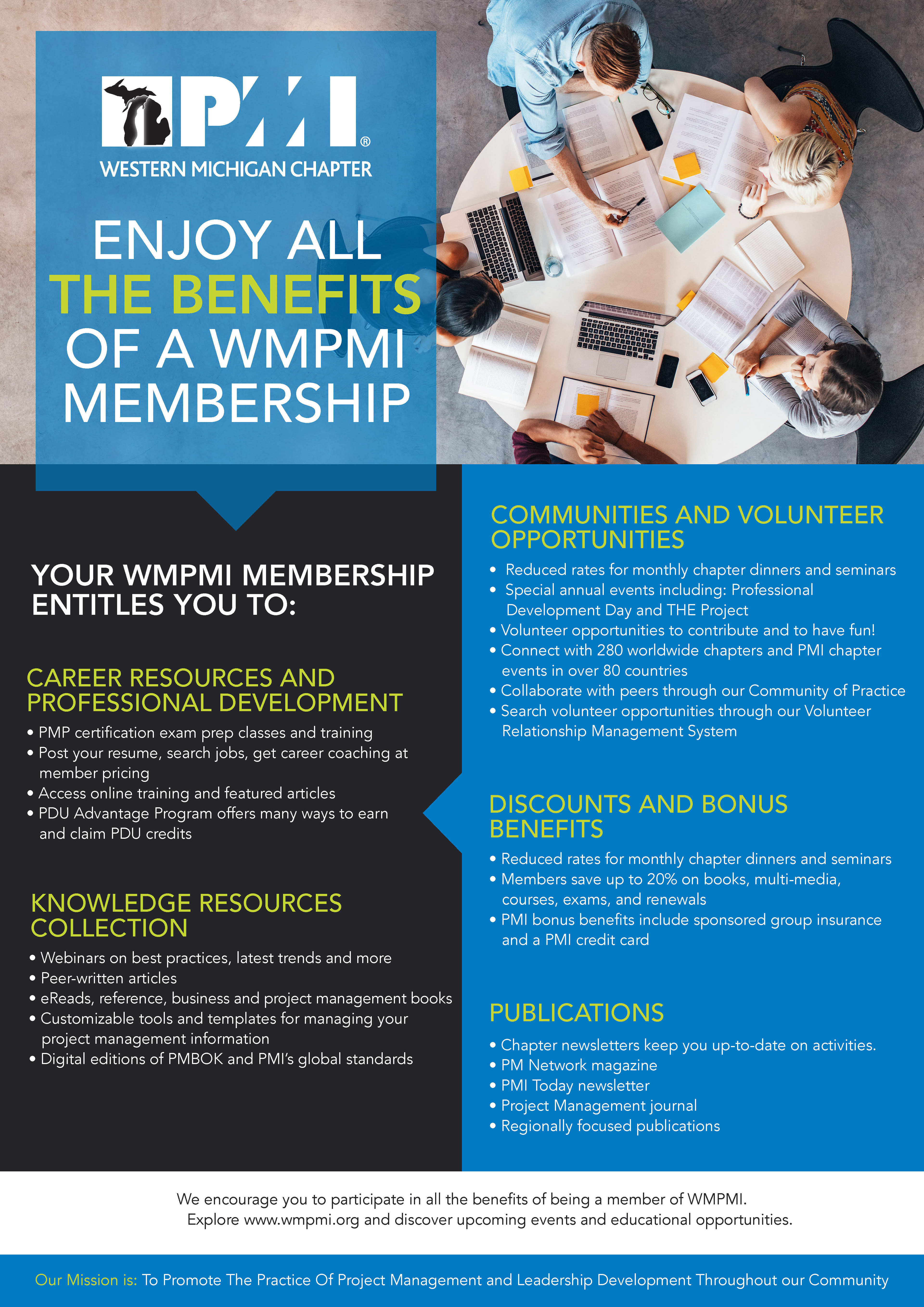 Mindy Dyk Wmpmi Promotion Materials
