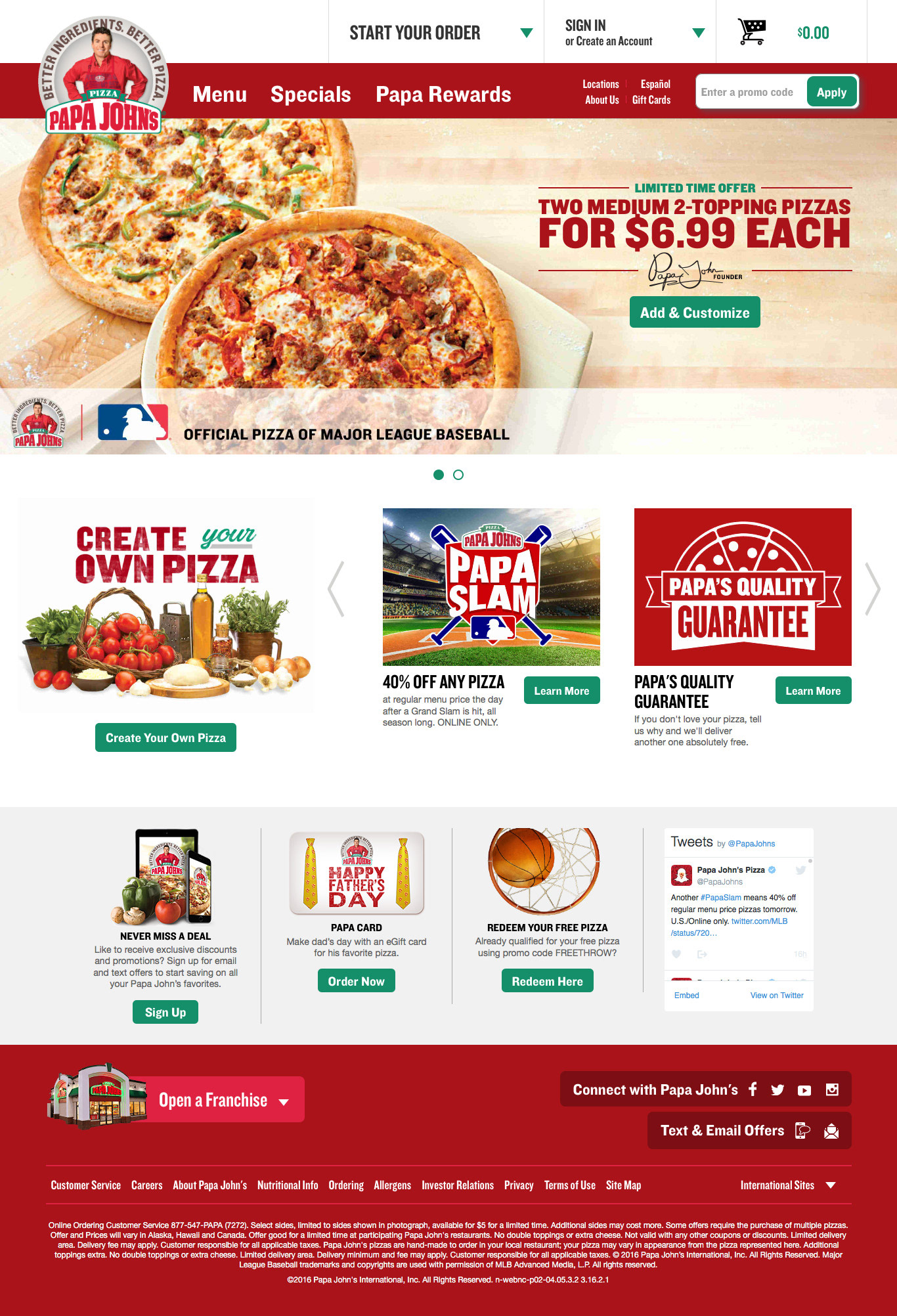 Jacquilyn Walker\'s Portfolio - Papa John\'s Father\'s Day
