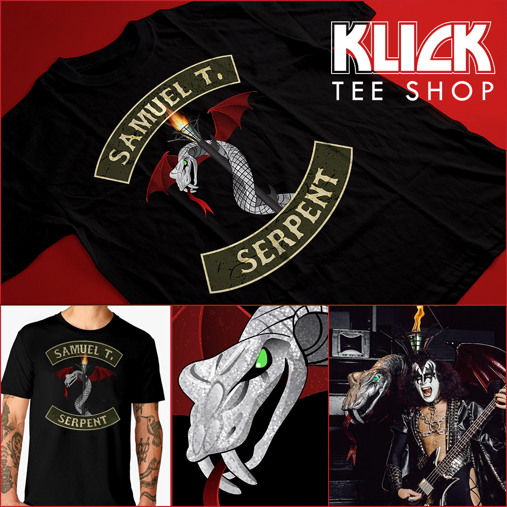 a858705c0 Klick Tee Shop The Hottest T-shirts in the World - Sam The Serpent