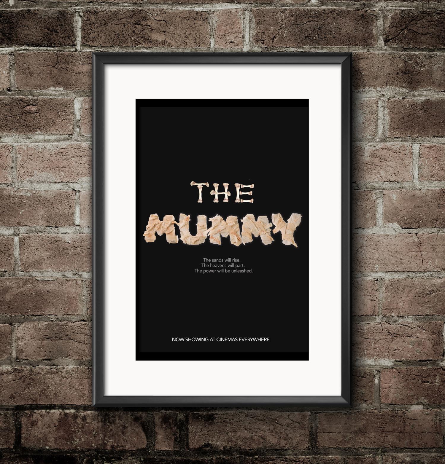 Anara Davletaliyeva The Mummy Movie Poster