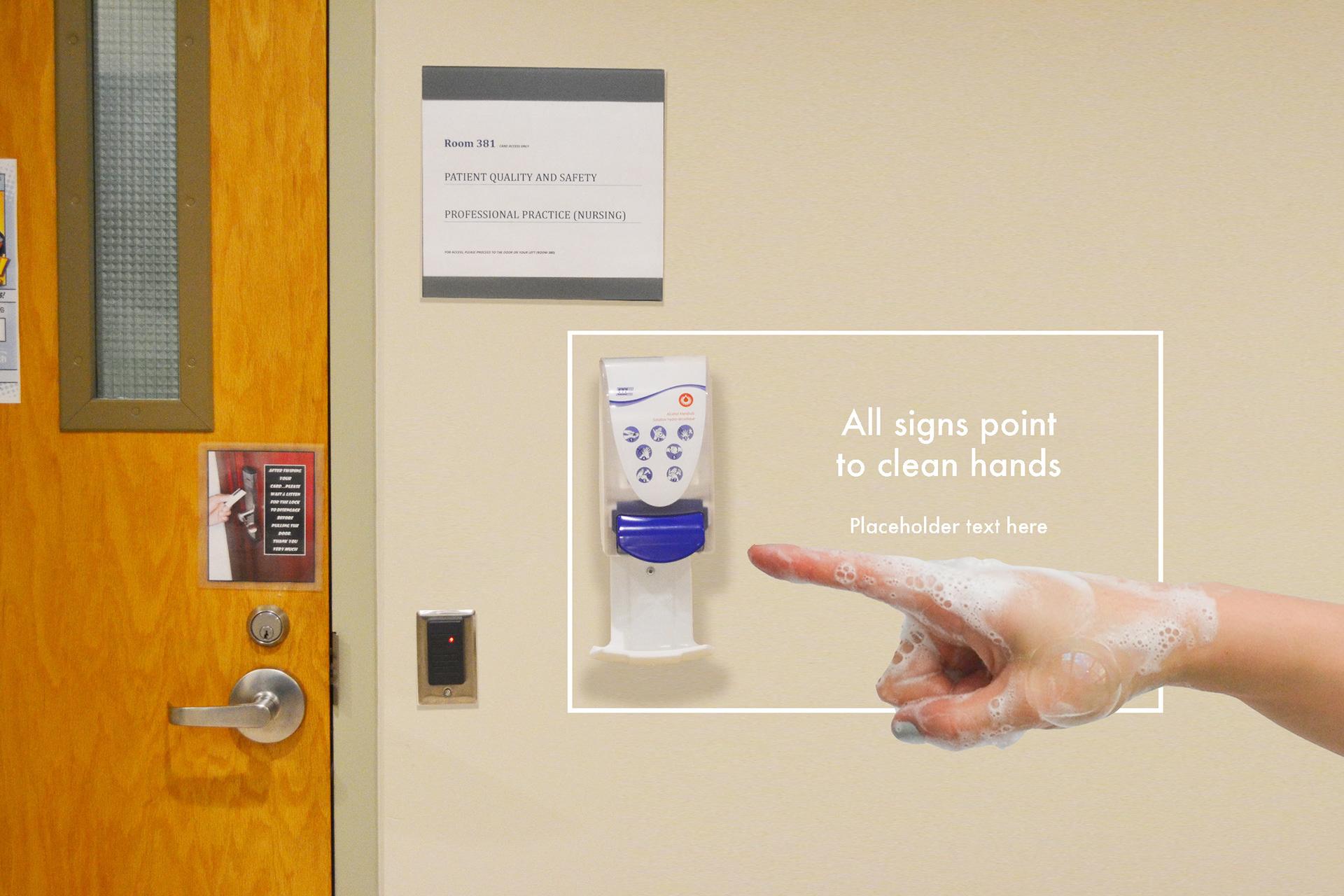 cb eady creative associates - Case Study - Hand Hygiene