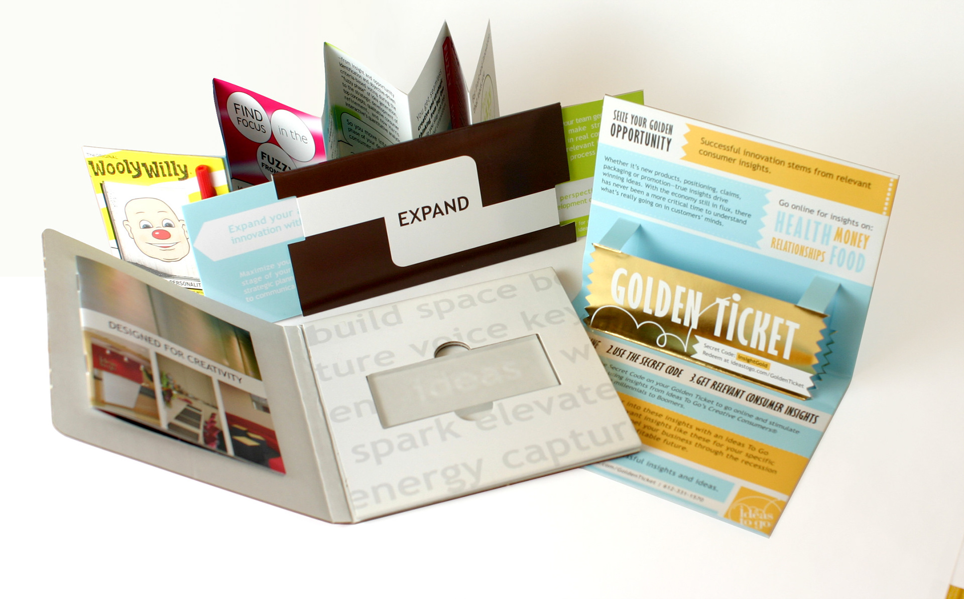 Andrea Kopacek - Direct Mail Examples