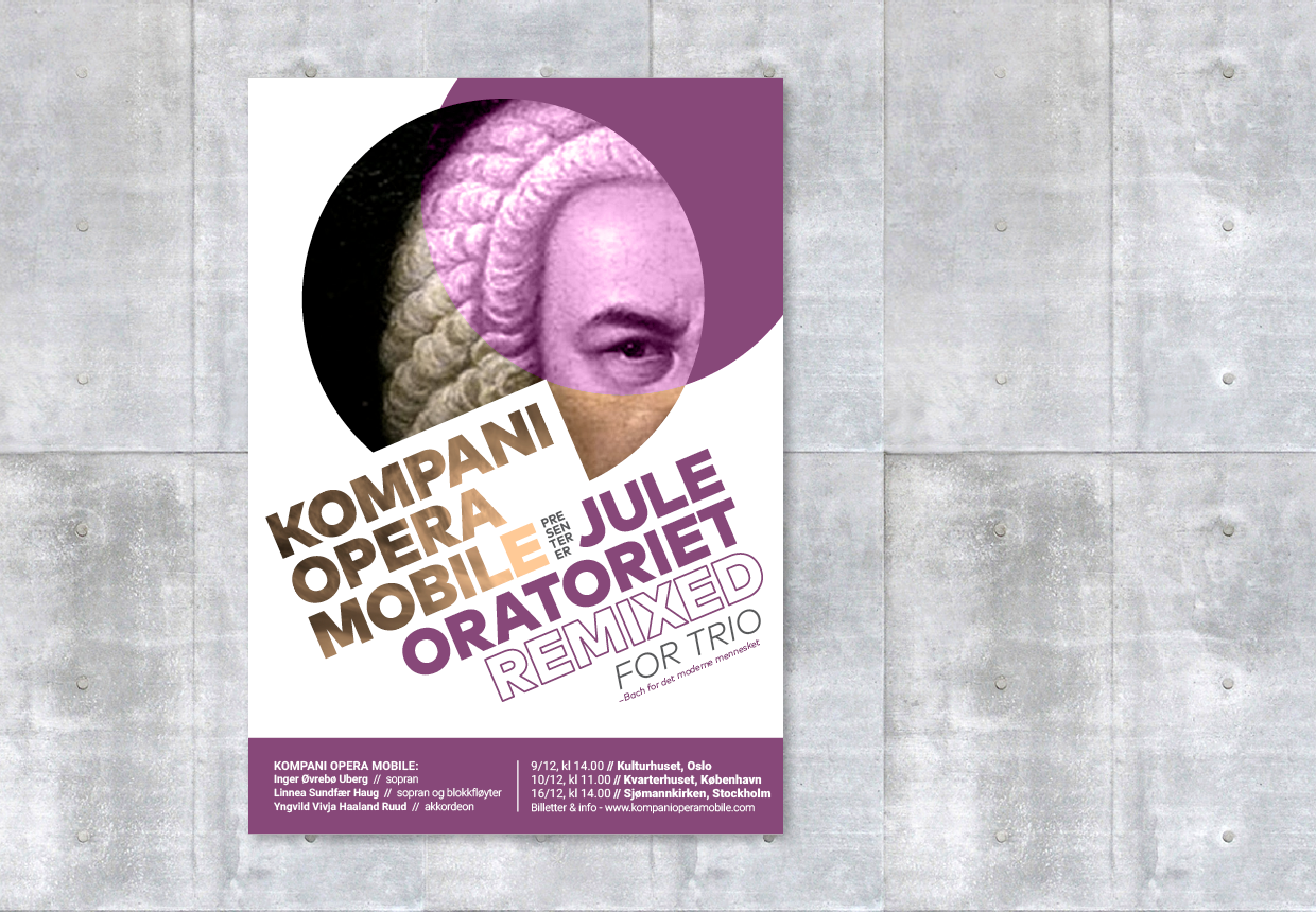 Kompani Opera Mobile Are Musicians That Wish To Make Music More Accessible Modern People I Have Created A Few Posters And Facebook Campaigns For