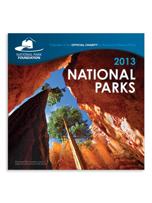 Krista Joy Johnson National Park Foundation Wall Calendar