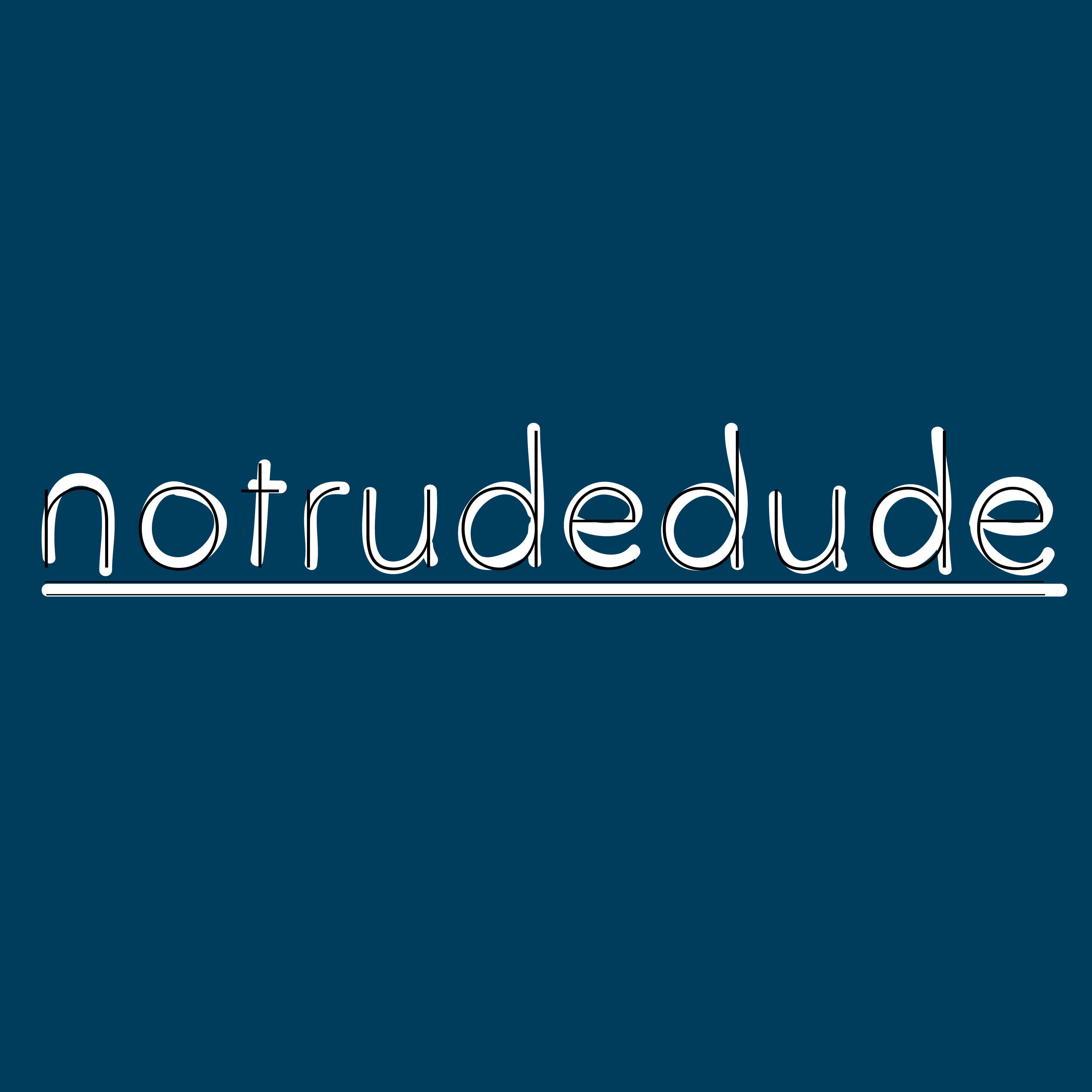 notrudedude