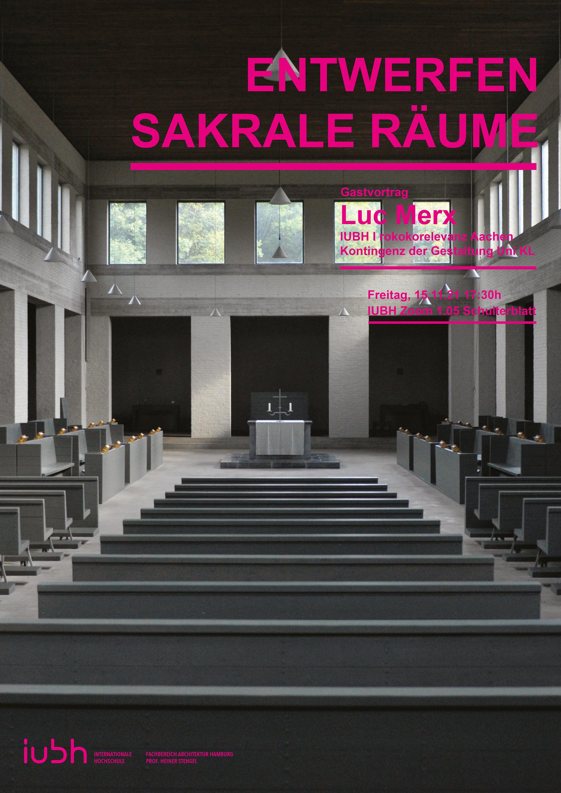 IU Internationale Hochschule   Architektur Hamburg   Gastvortrag ...