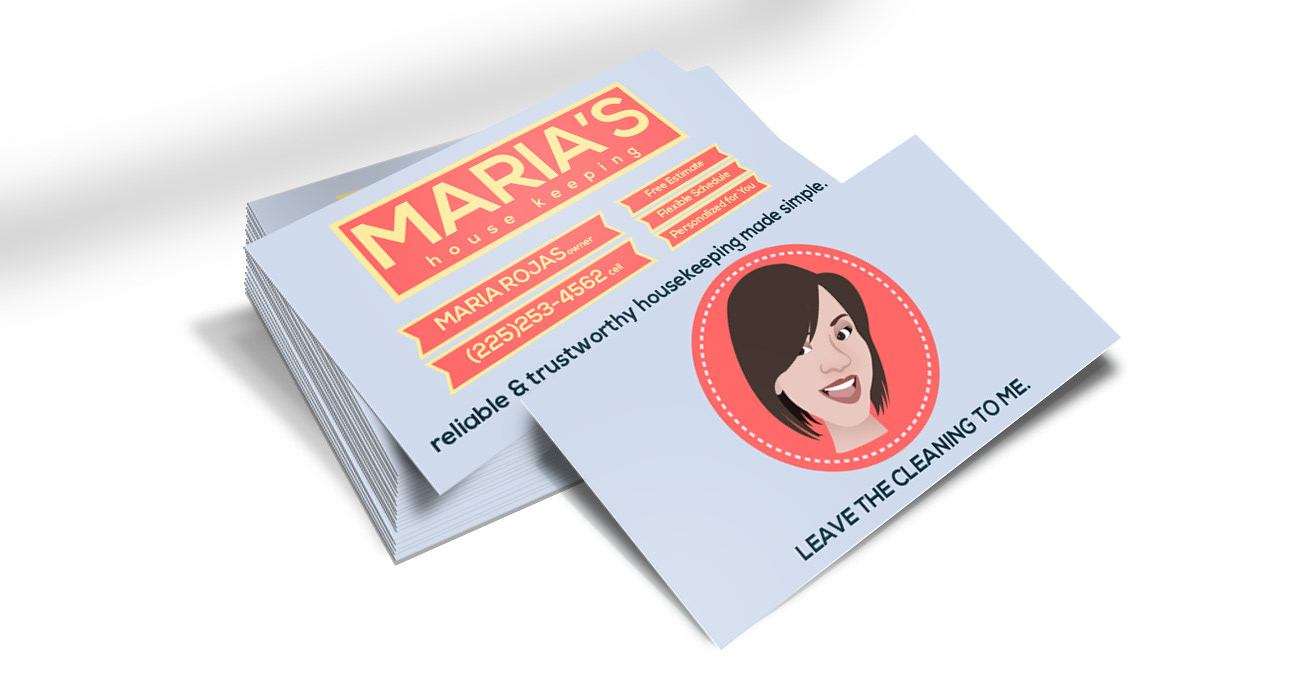 Jorge Flores Portfolio - Maria\'s Housekeeping