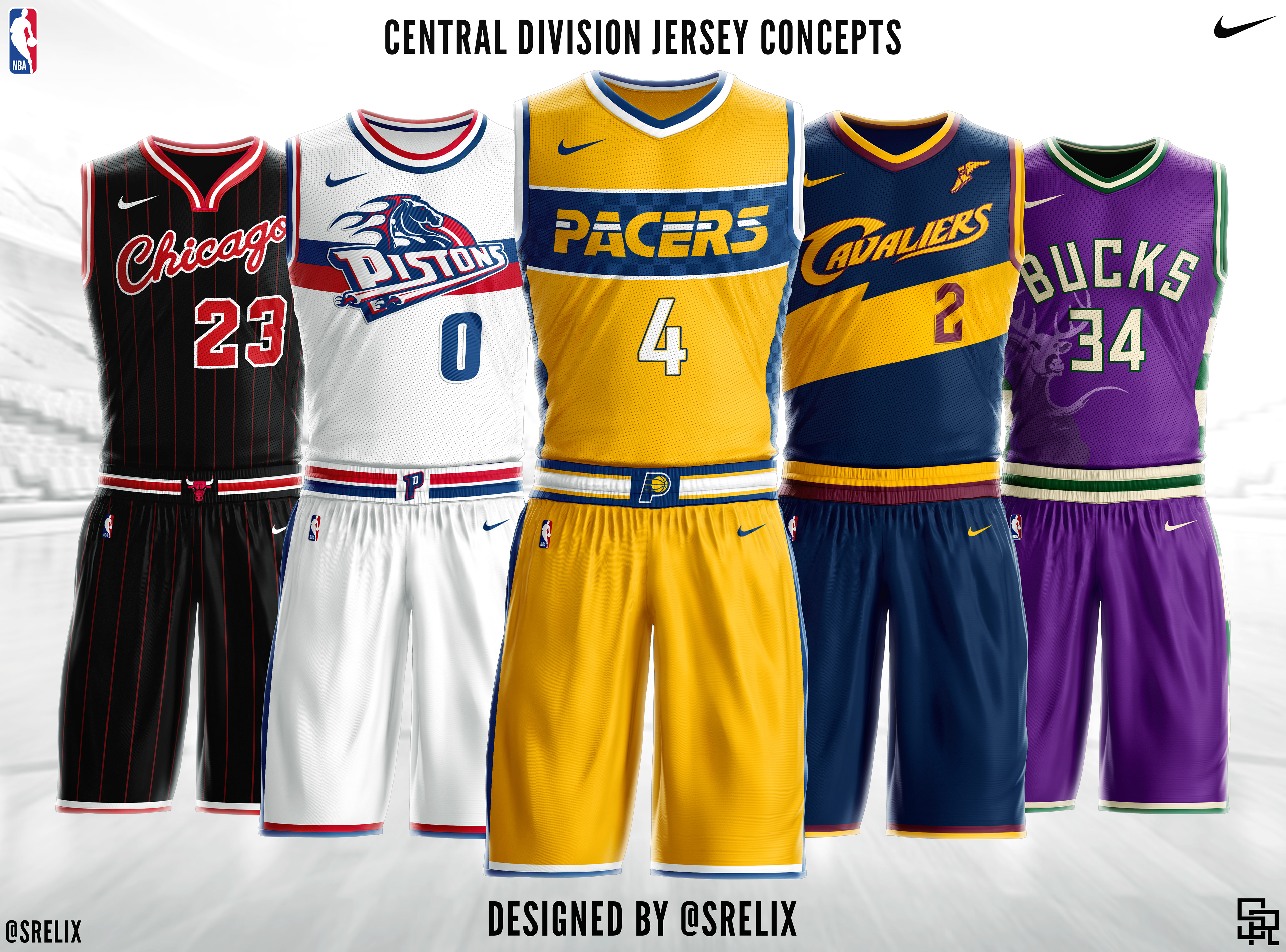 NBA jersey concepts that I designed. Check them out on Instagram  srelix.  Powered by www.sportstemplates.net 911925512282