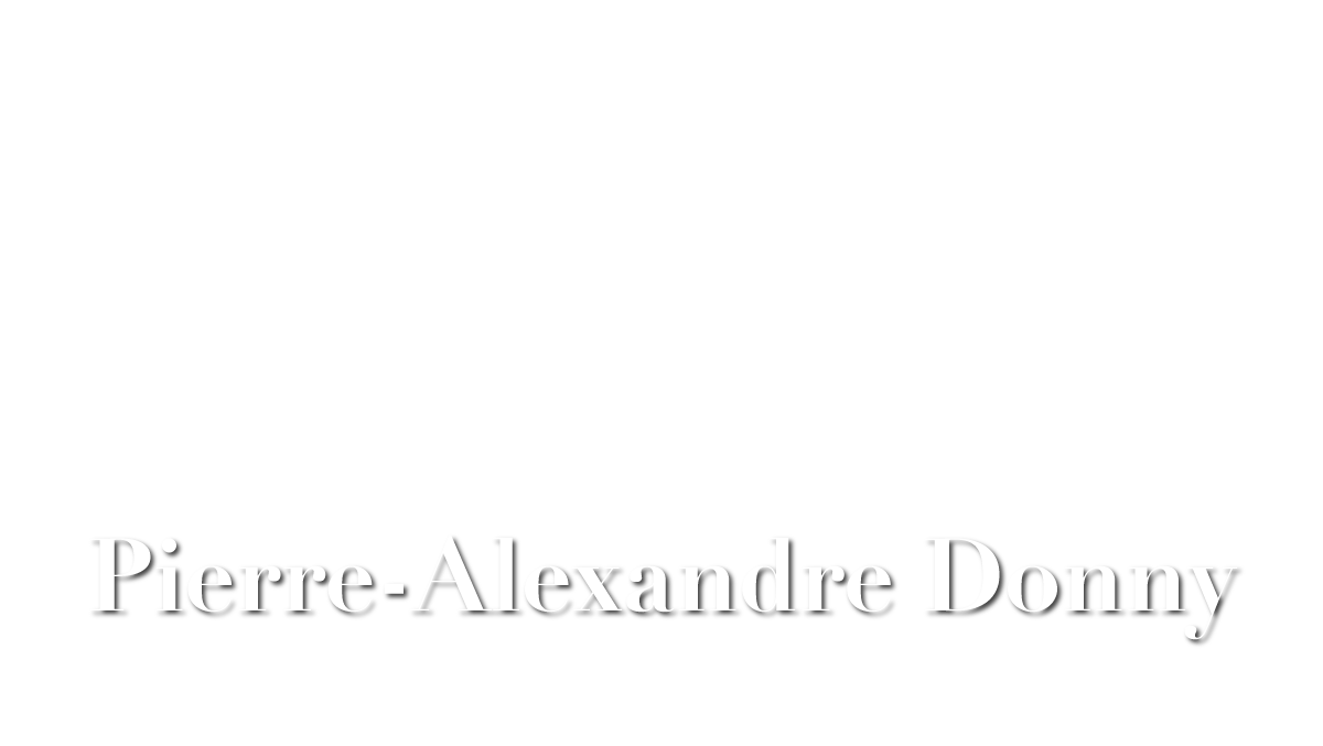 Pierrre-Alexandre DONNY
