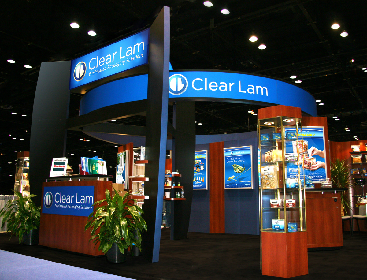 Exhibition Booth Photography : Michael alianello clear lam packaging™ marketing assets & publications
