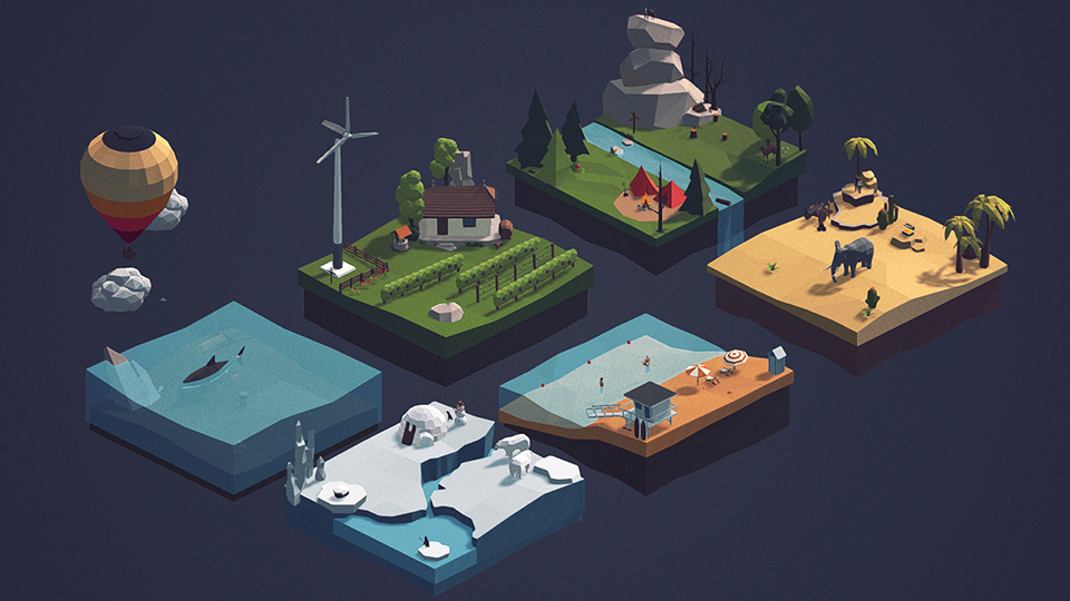 polyperfect / high quality 3D models - Low Poly Ultimate Pack