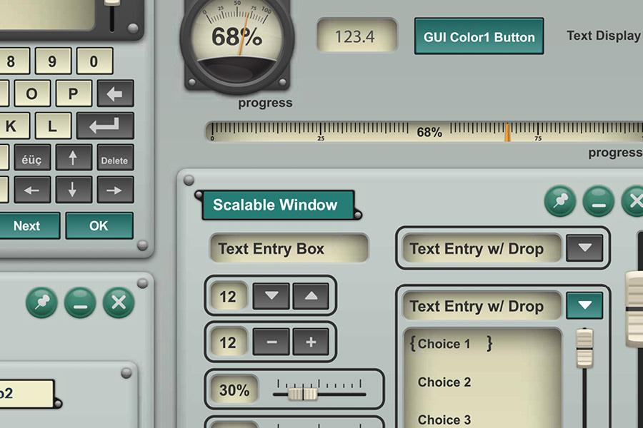 William Nickley Design Portfolio - Automation Software: GUI