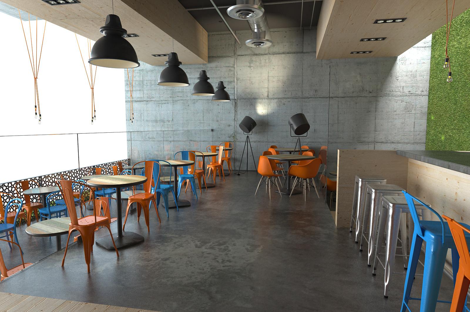 Melon agency design production moroccan restaurant