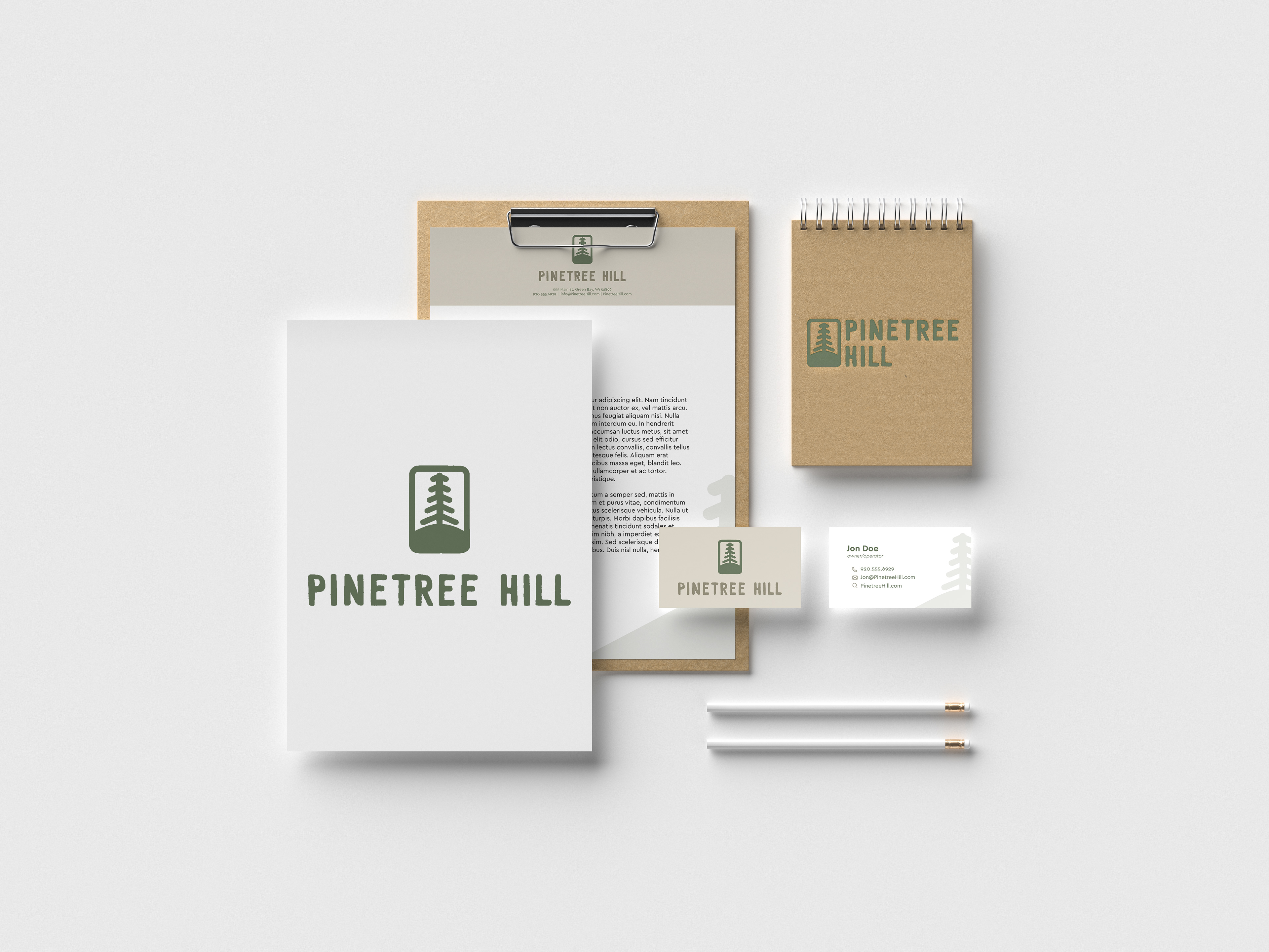 19th frame pinetree hill the logo correctly the official colors and typefaces branding also included stationery business cards product tags product mockups and web mockups reheart Gallery