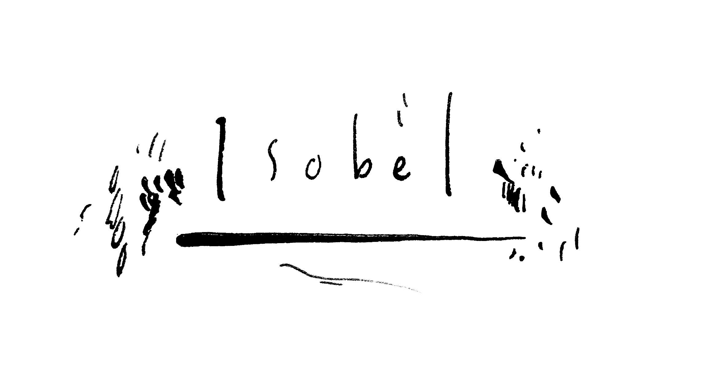 Isobel Illustration