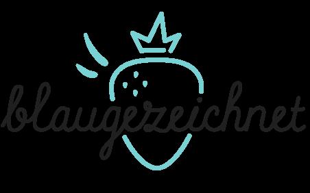 Logo blaugezeichnet