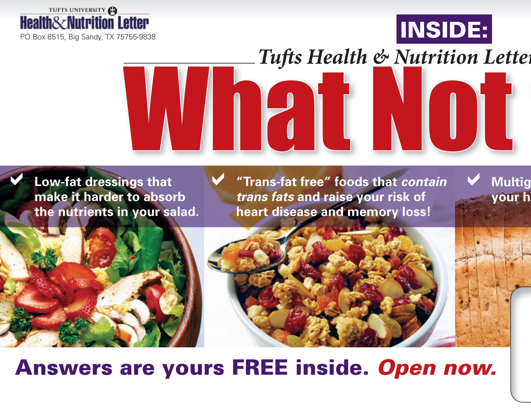 Ericka Dreisbach - Tufts Health & Nutrition