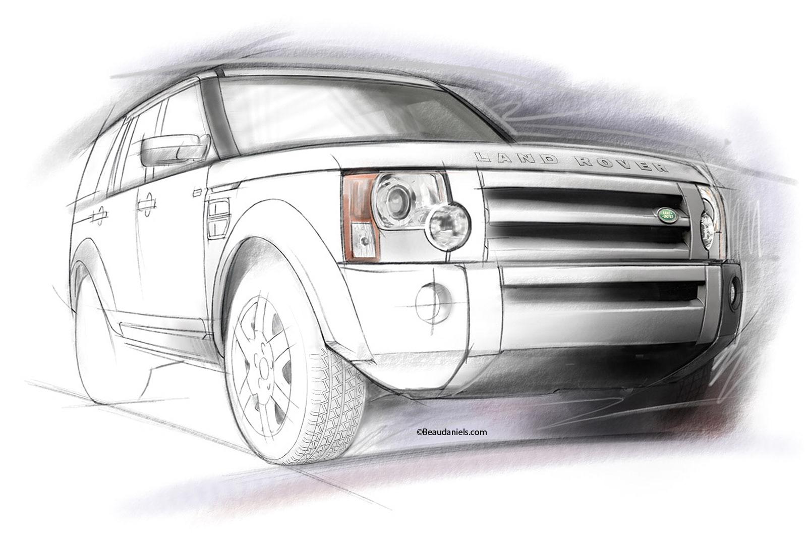 Technical Illustration, Beau And Alan Daniels.