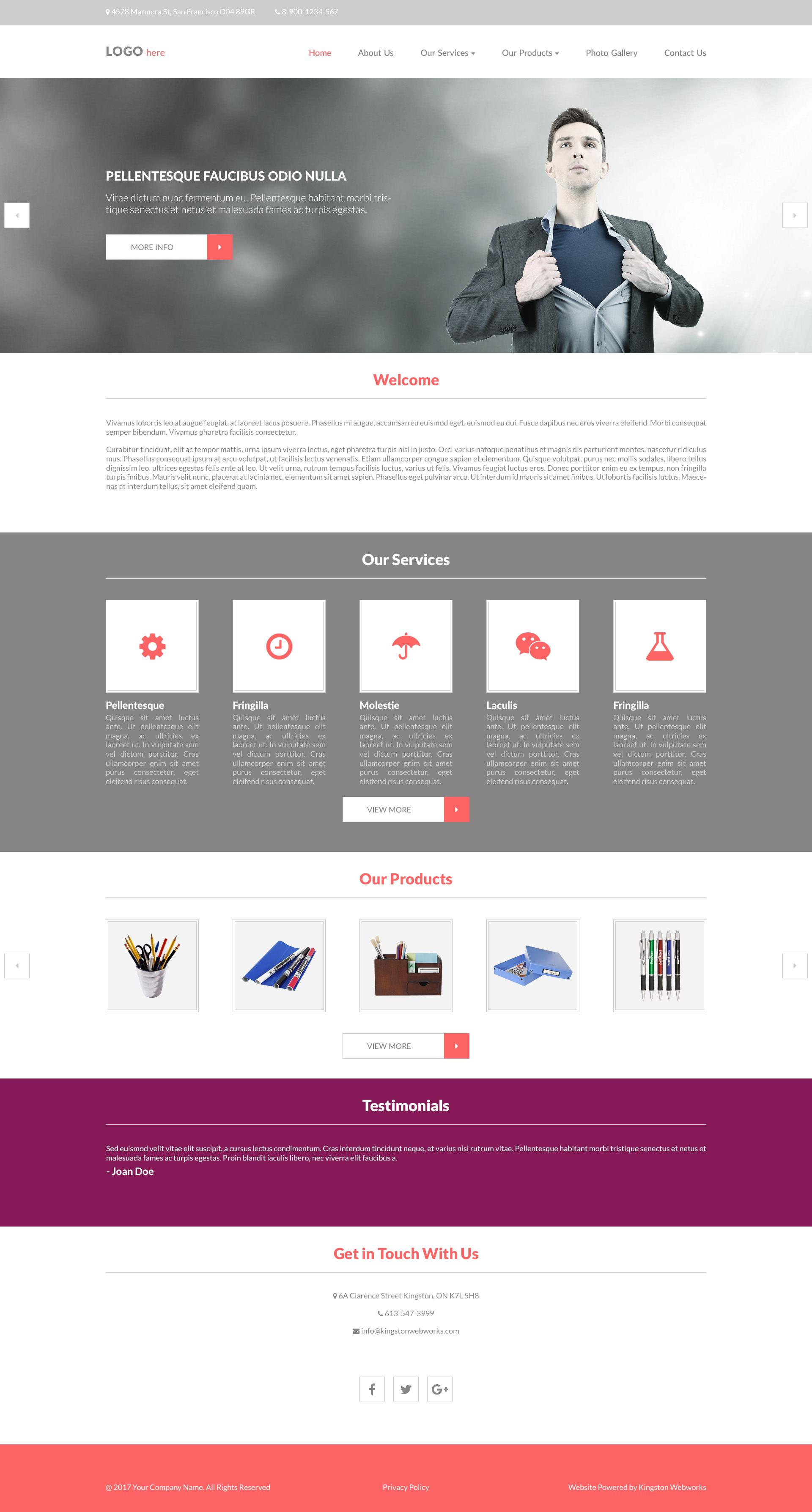 Namona Design - 10 homepage designs