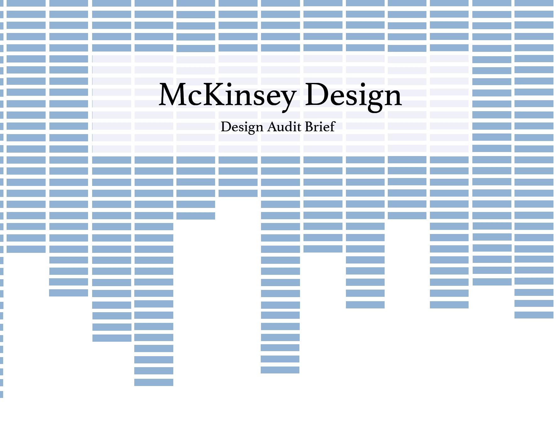 Rimsha Rohile - MCKINSEY DESIGN AUDIT
