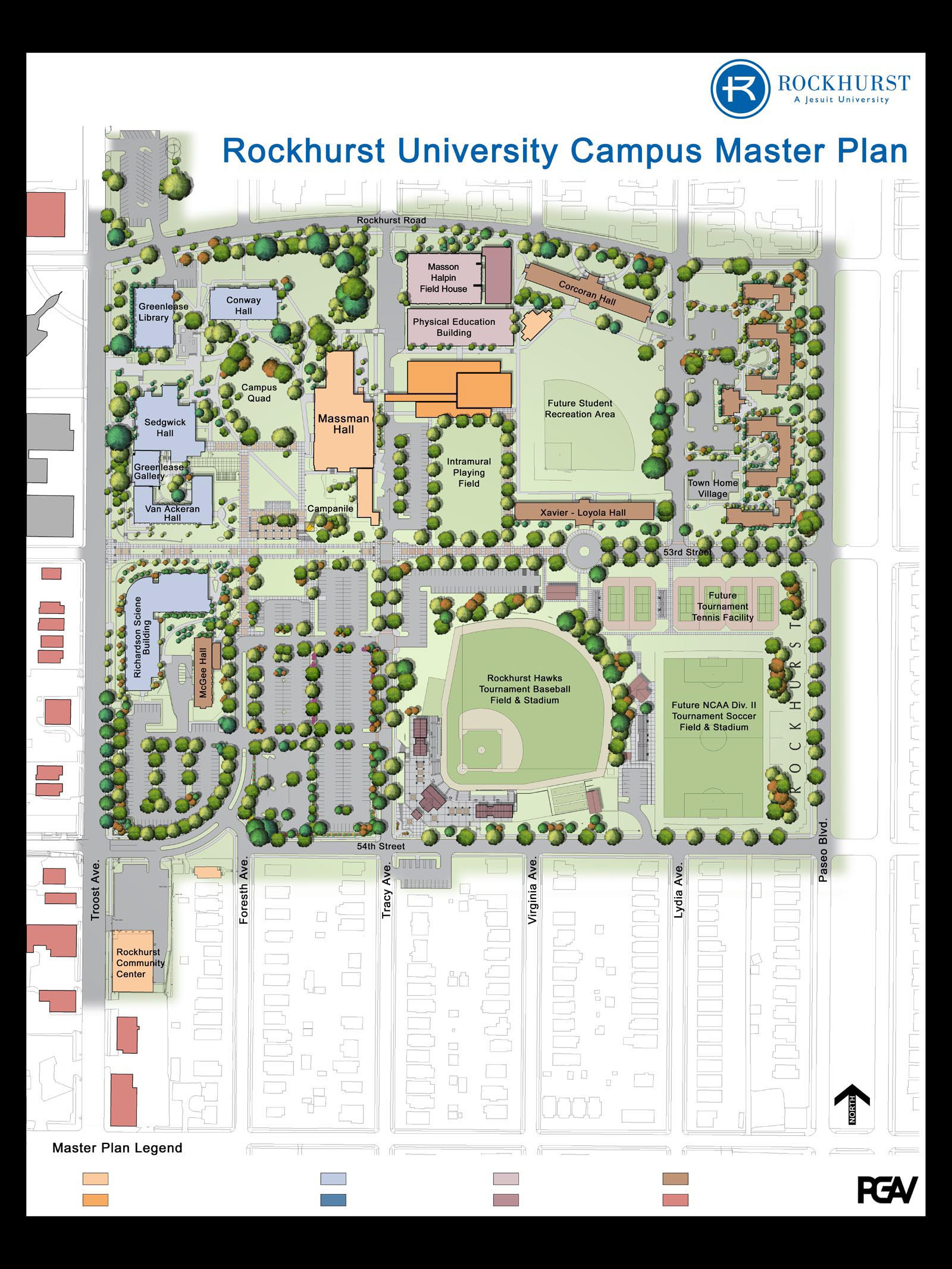 Matthew Smith Loyola Park Masterplan Rockhurst University