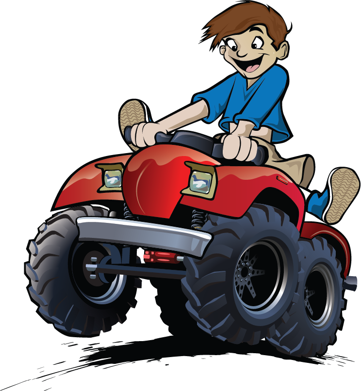 ADA Discount Motors Mascot Drawing