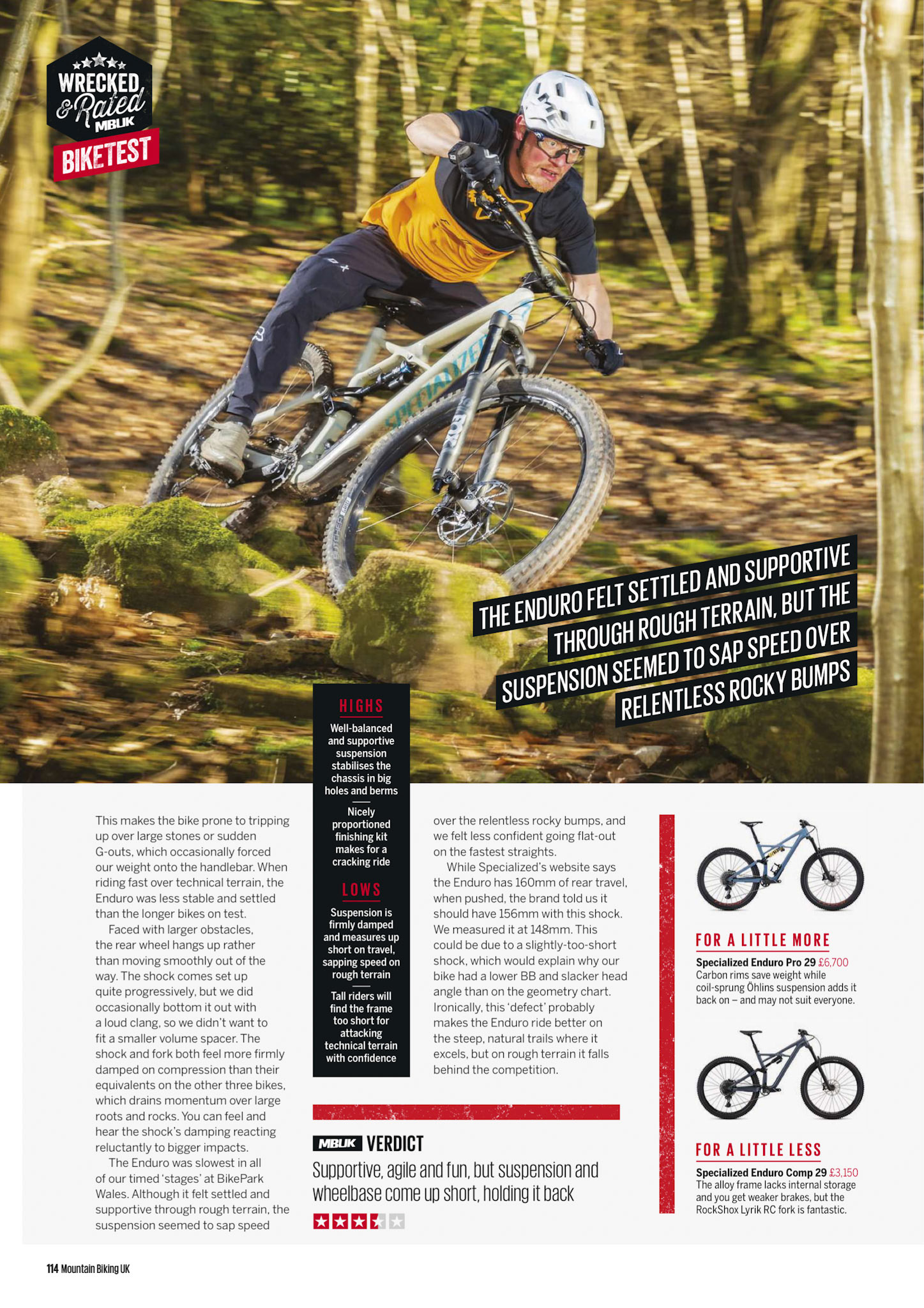 Russell Burton | Photographer - Enduro Bikes GT, MBUK