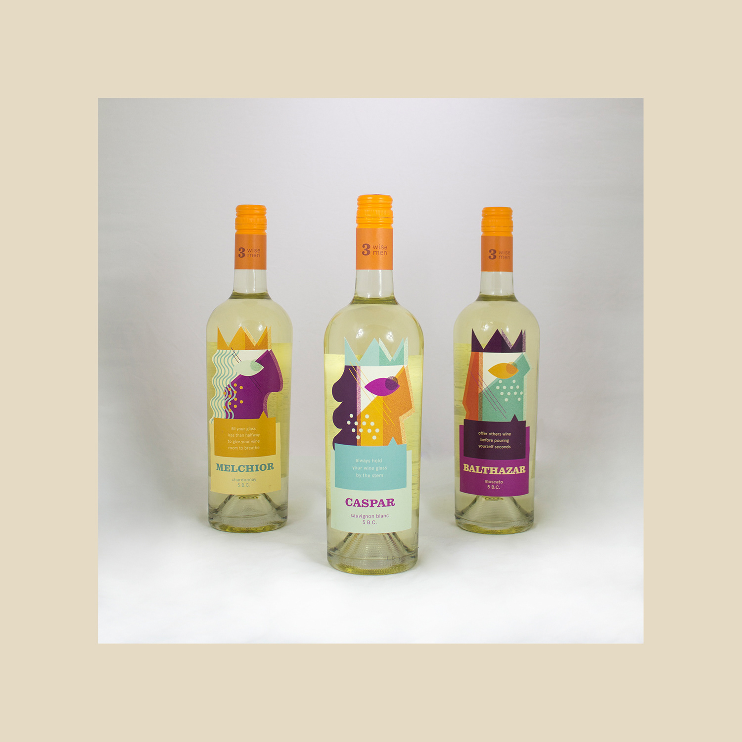 Nikki Solinap Three Wise Men Wine