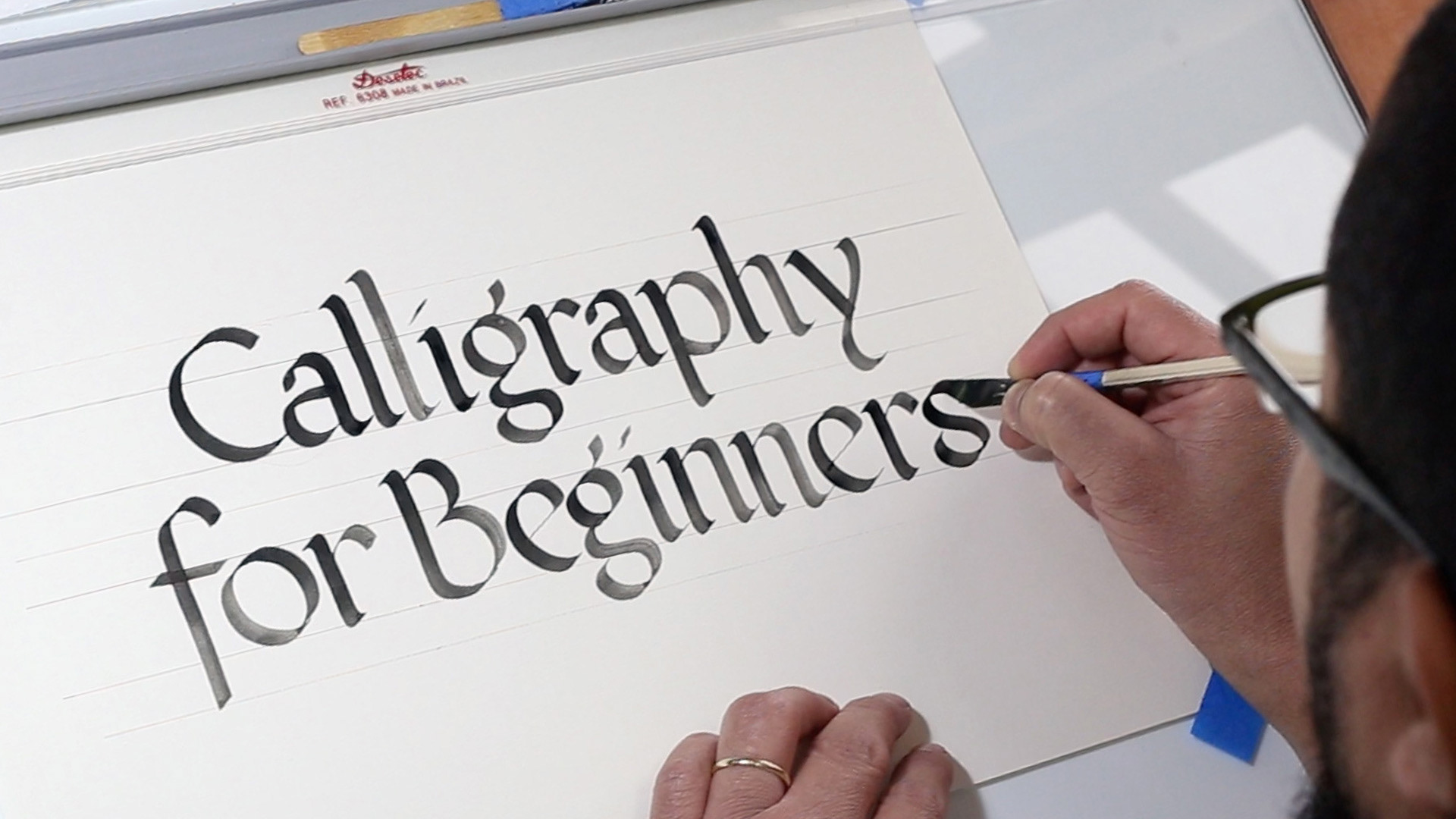 Jackson Alves Online Calligraphy Class 1 The