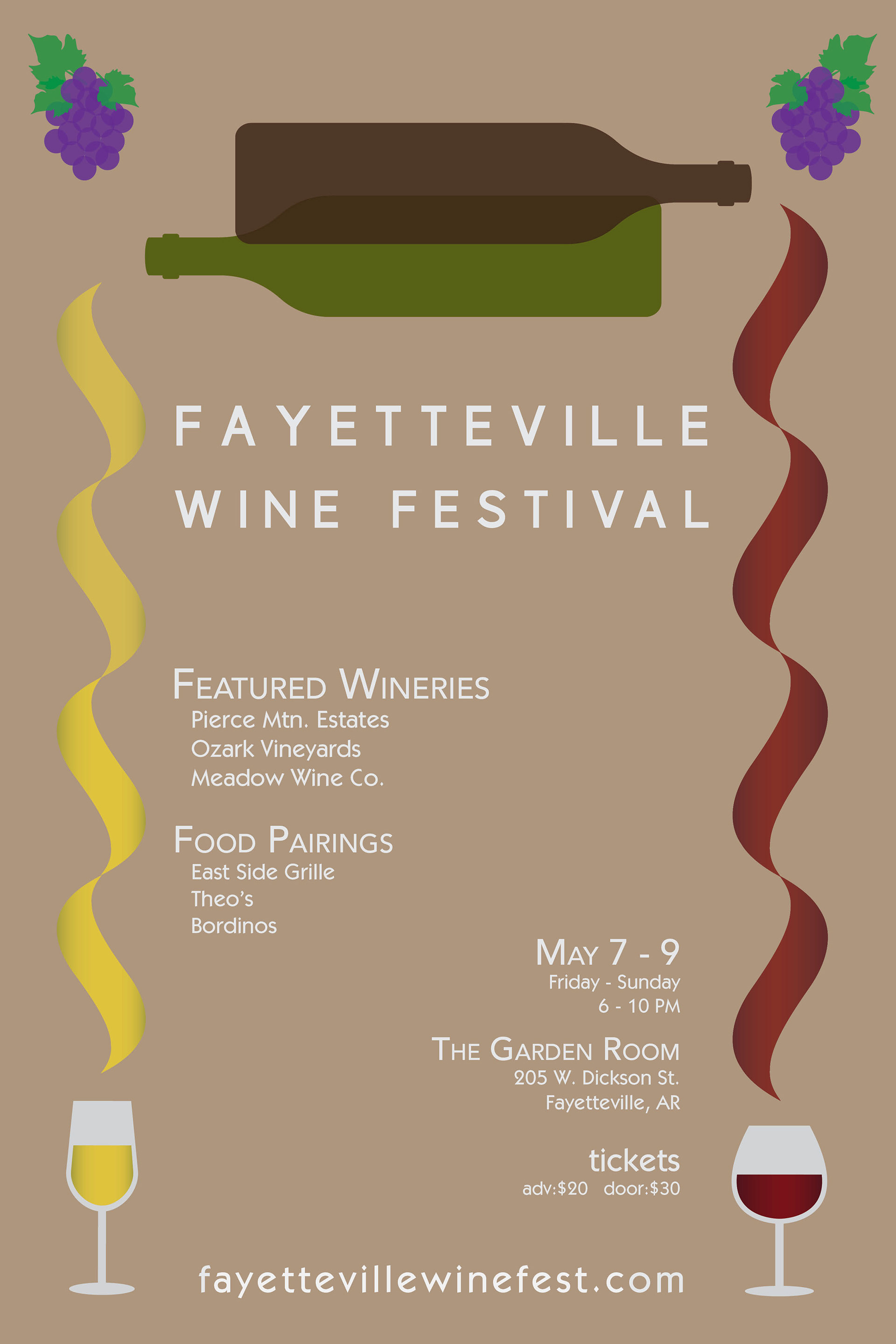 For This Project I Was Asked To Create A Series Of Posters Festival Event Our Choosing Chose Wine Inspired By Some AM